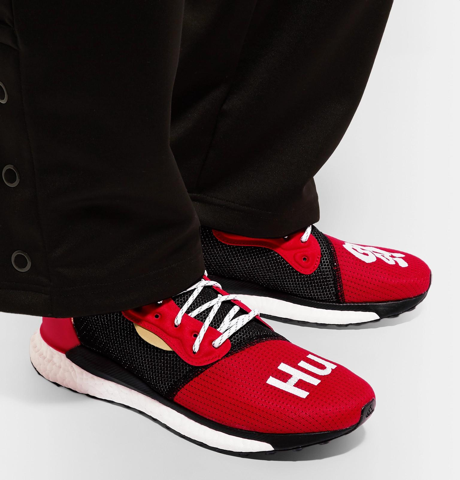 Red For Sneakers Cny Williams Solarhu Adidas Originals Pharrell In R0n44q