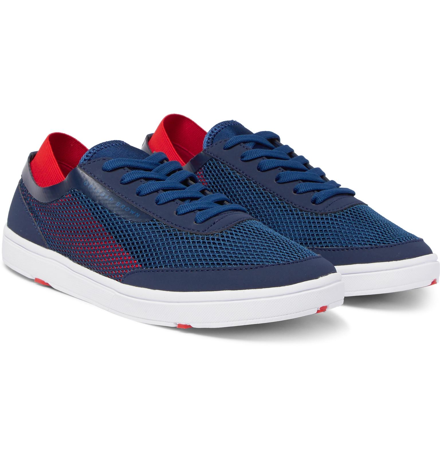 Larson Panelled Mesh Sneakers Orlebar Brown LvoQVe