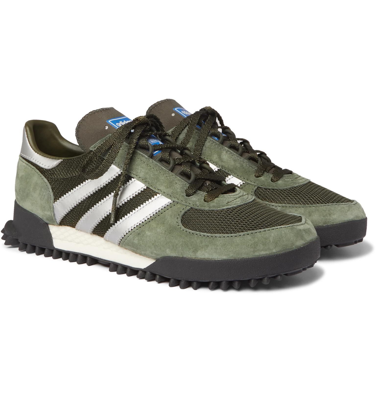 Marathon Tr Mesh, Suede And Leather Sneakers adidas Originals