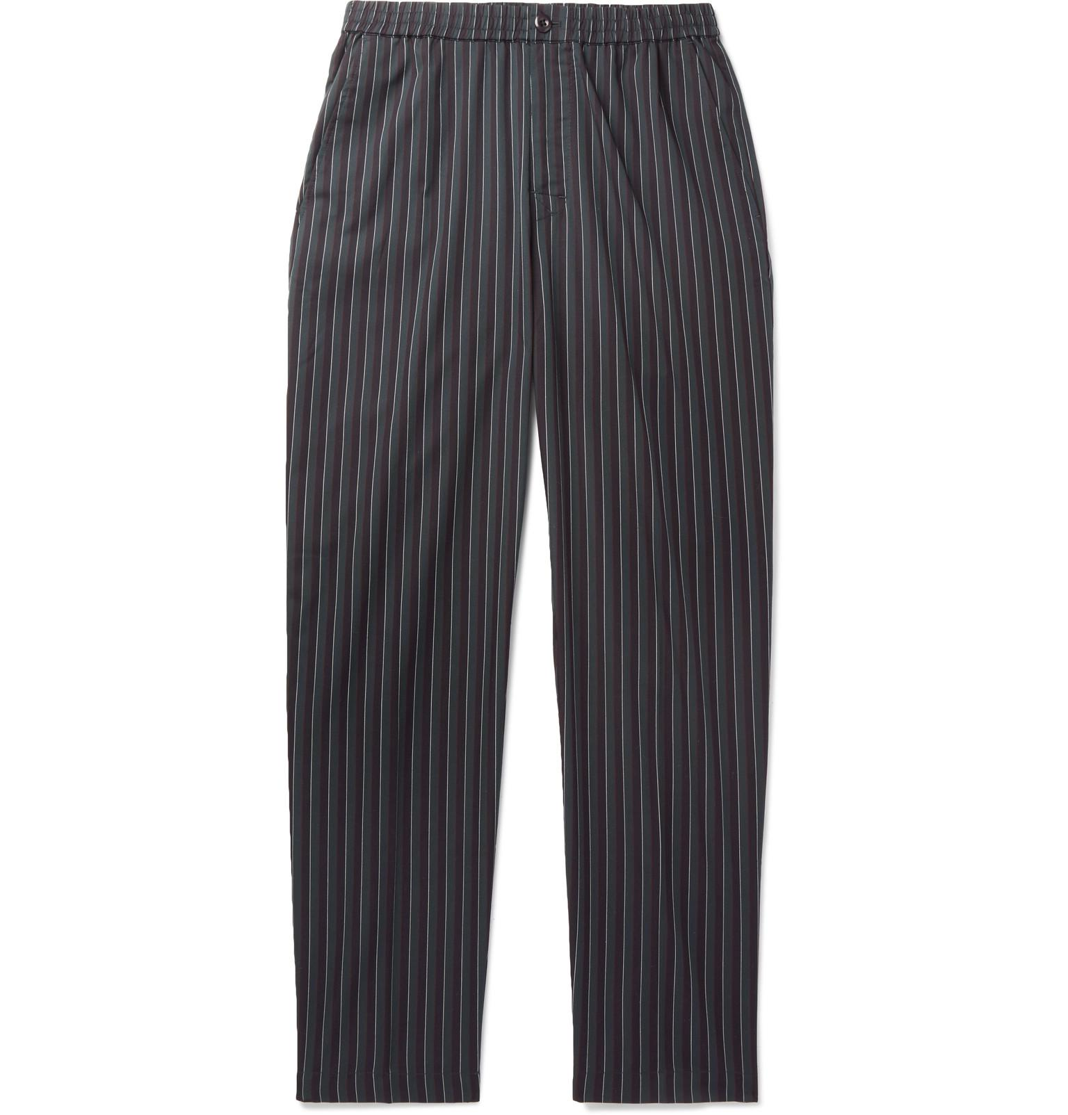 Bryan Striped Twill Trousers St usXhpuSdl