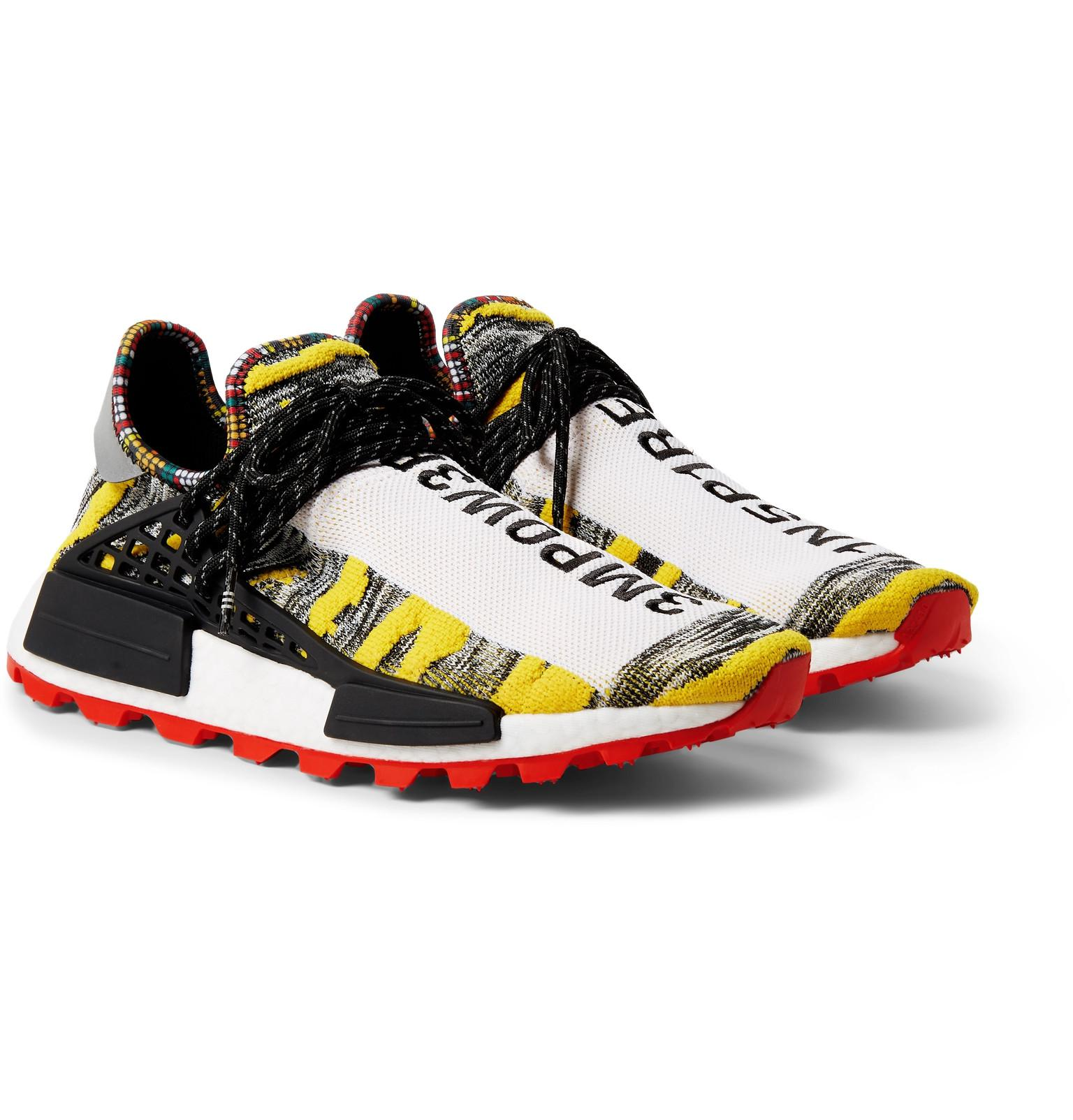 4f49a0921 adidas Originals + Pharrell Williams Solarhu Nmd Primeknit Sneakers ...
