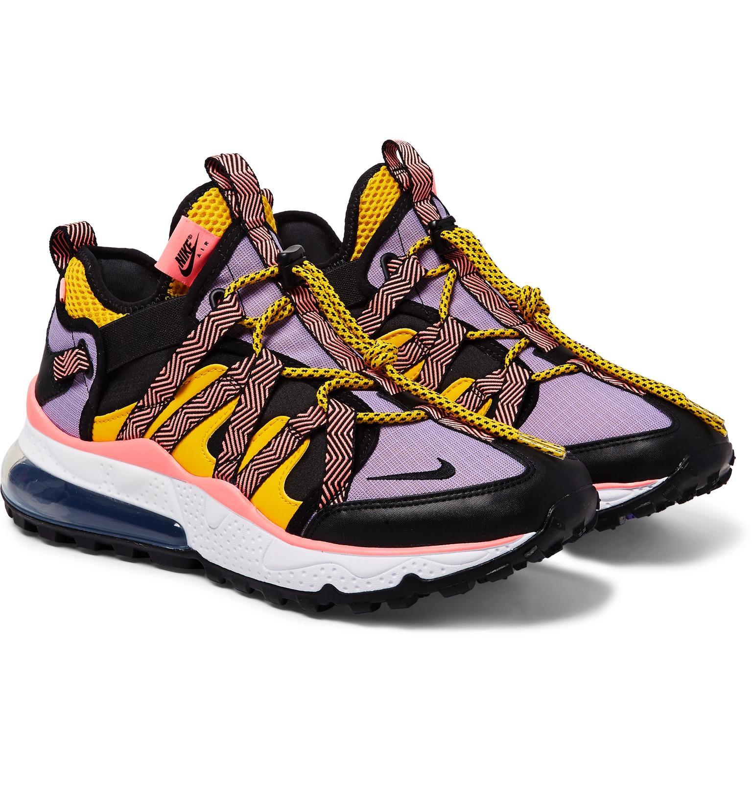 new arrival 7781c 38b5b Nike - Multicolor Air Max 270 Bowfin Mesh And Nylon Sneakers for Men - Lyst.  View fullscreen