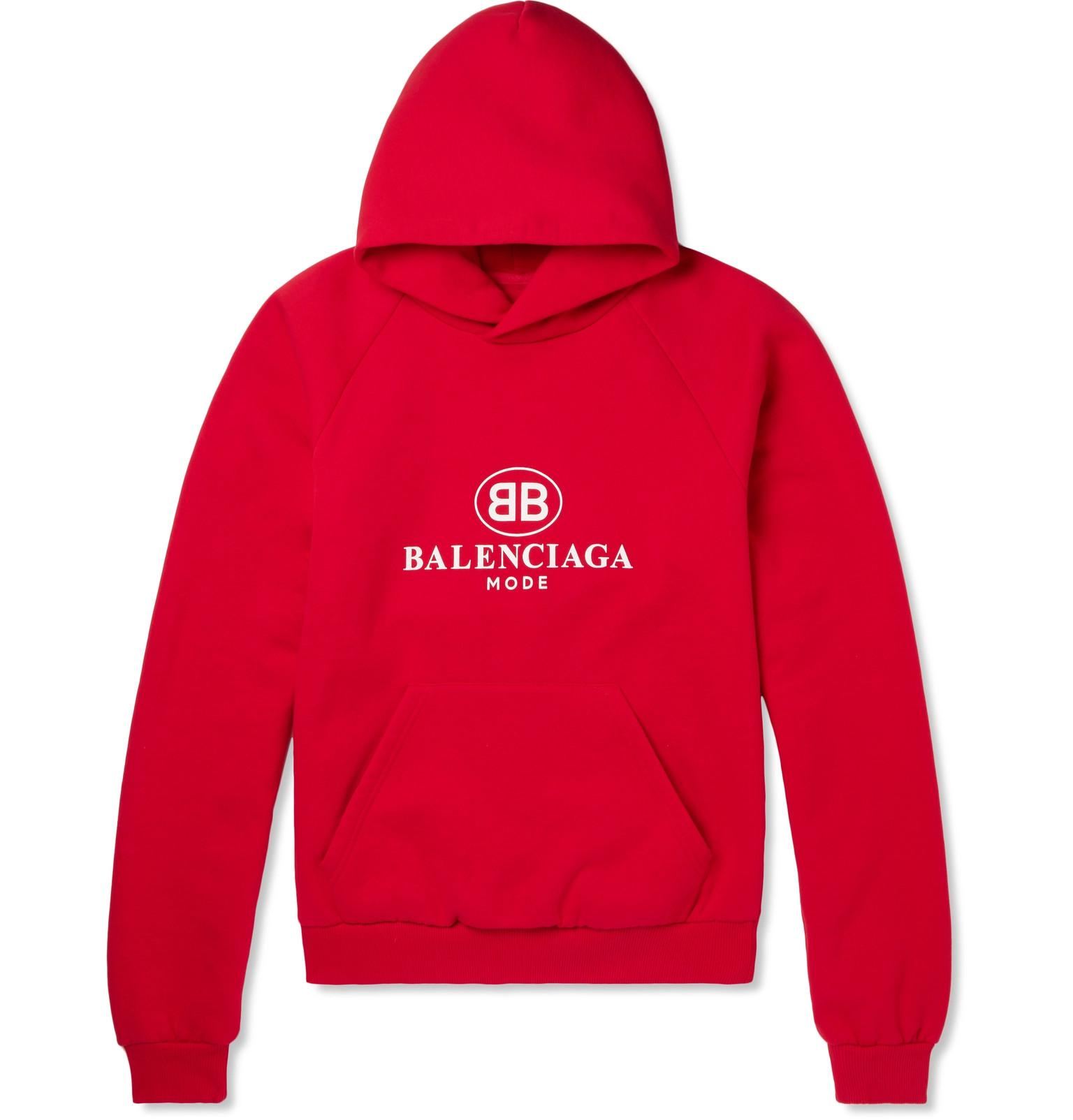 Pay With Visa Online Cheap Price Free Shipping Logo-print Cotton-blend Jersey Sweatshirt Balenciaga Sale Low Price lEZdVnKP