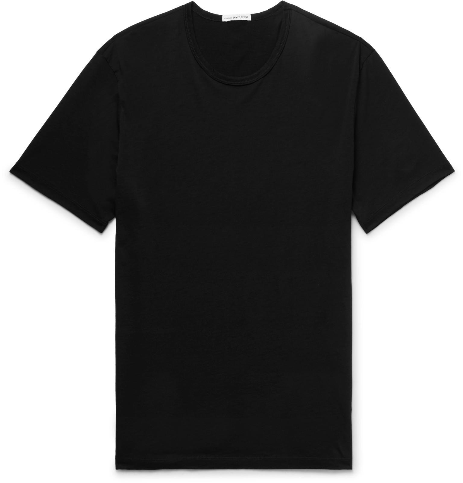 mezcla mezcla Perse James algodón de de de cachemira y Camiseta slim de de punto con ajuste 0xwTtZqg