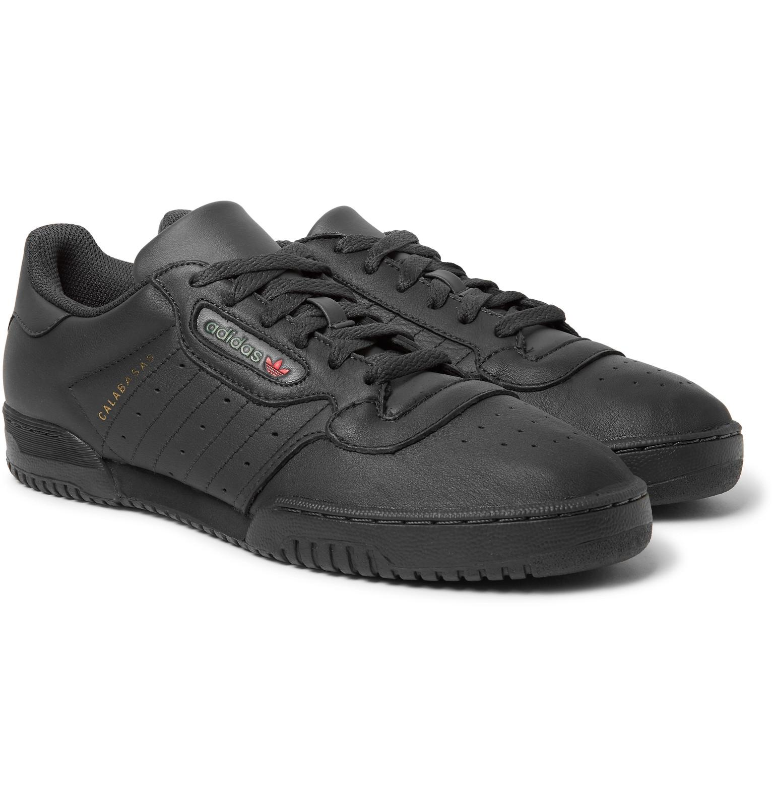 detailed look d7215 a49b7 adidas Originals Yeezy Powerphase Calabasas Leather Sneakers in ...