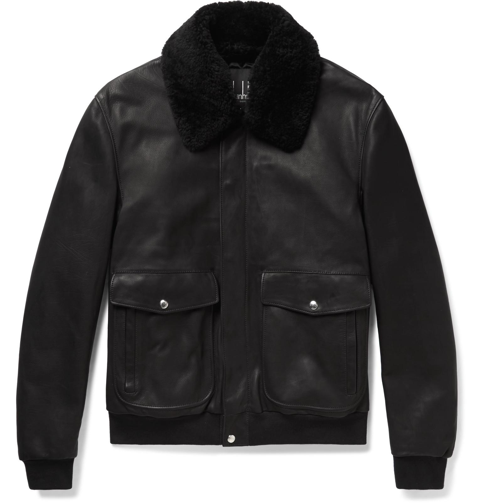 Dunhill leather jacket