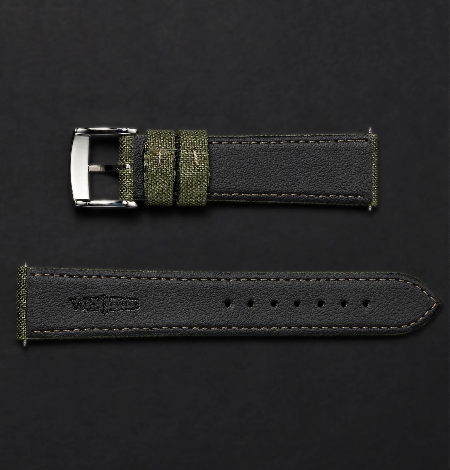 a2f68d2d81f Weiss - Green Cordura Watch Strap for Men - Lyst. View fullscreen