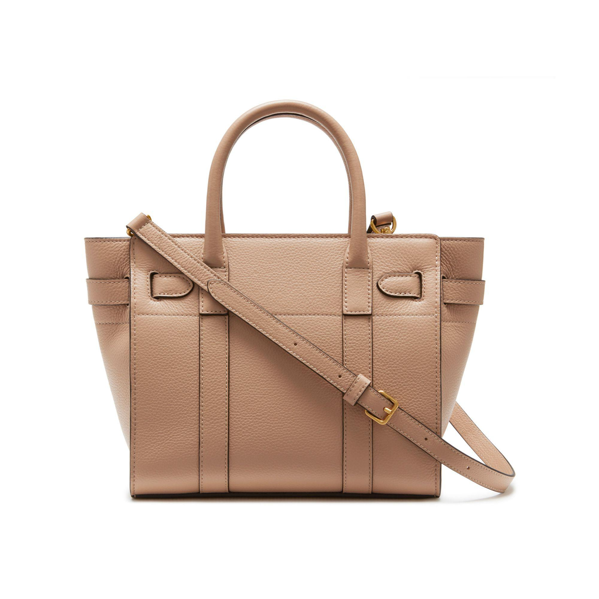 4f59e38b91 ... buy mulberry brown mini zipped bayswater lyst. view fullscreen 5a08c  ca99c reduced mulberry small ...