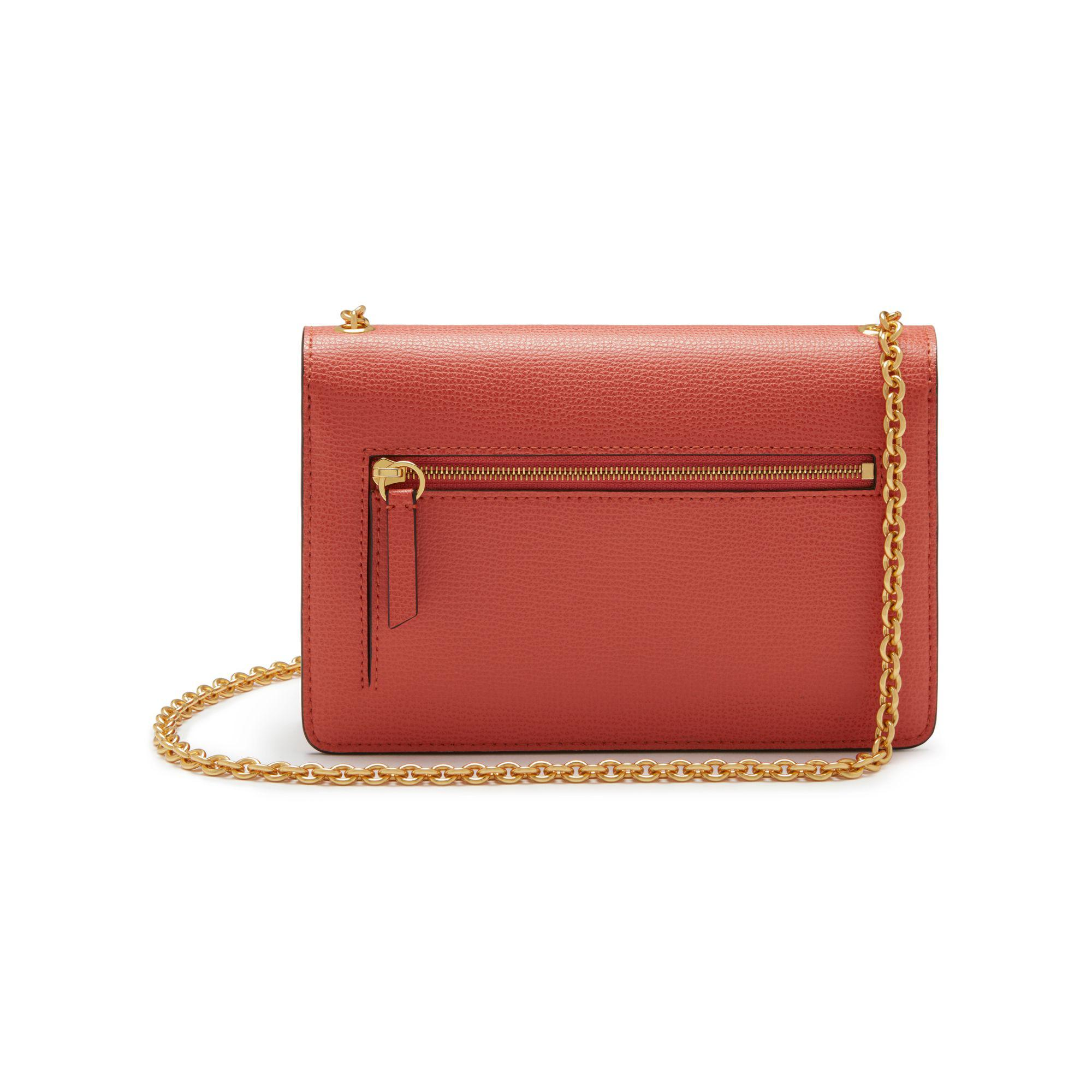302a8fd7e4 Mulberry Small Darley in Red - Lyst