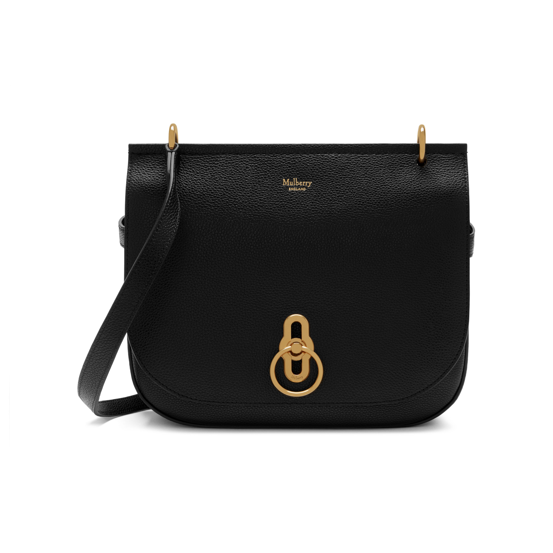 c6ca24b484e38 ... official store mulberry black amberley satchel lyst. view fullscreen  9e116 919a7