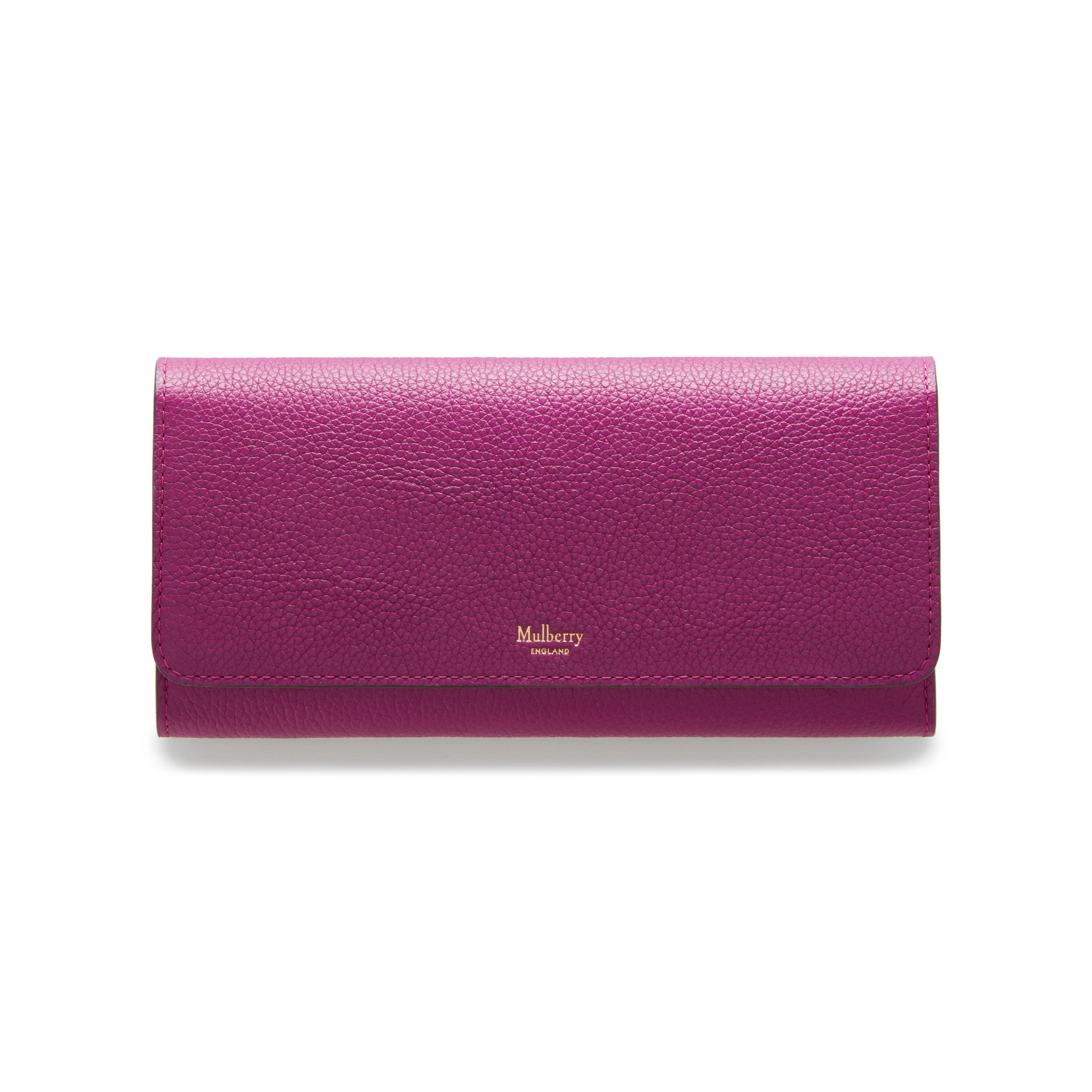 4d2251bafc ... cheap mulberry continental wallet in purple lyst 9ed59 c106f