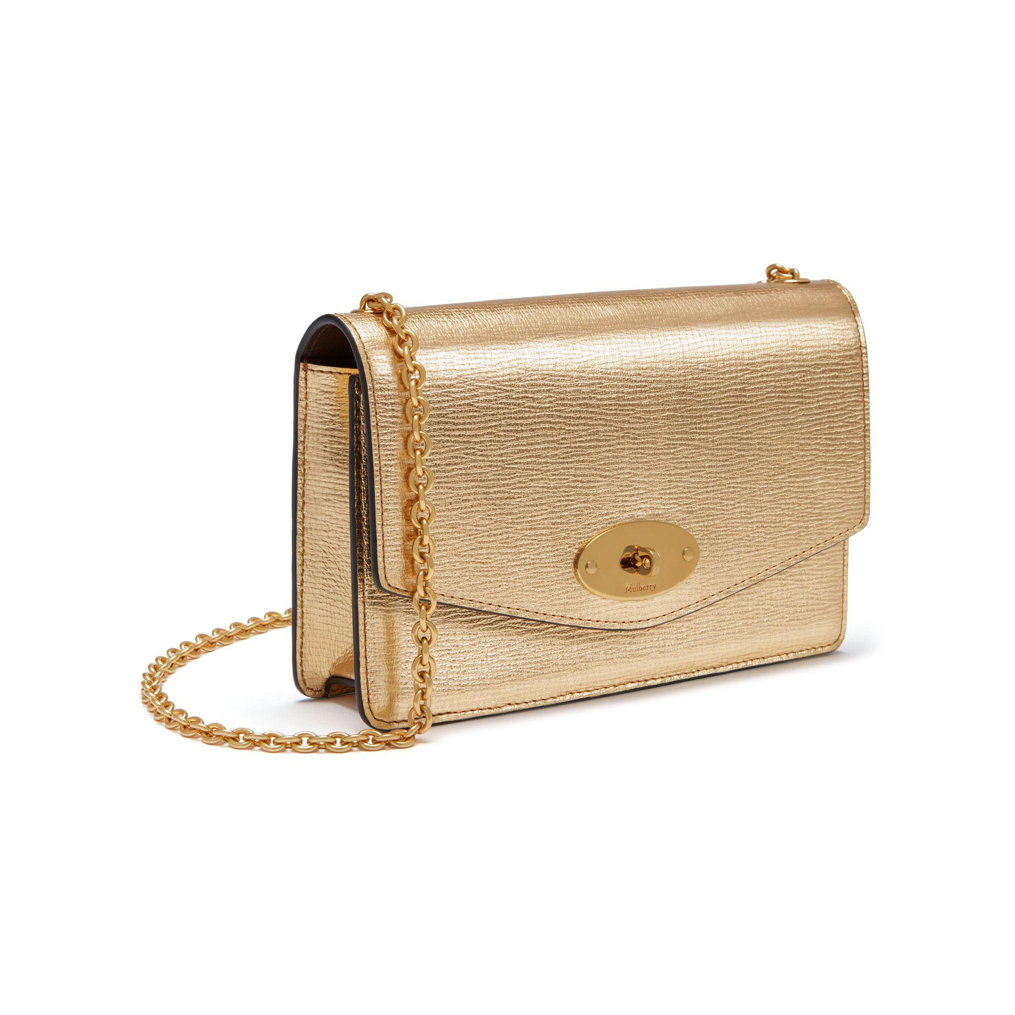 76c39d19241c Mulberry Small Darley in Metallic - Lyst