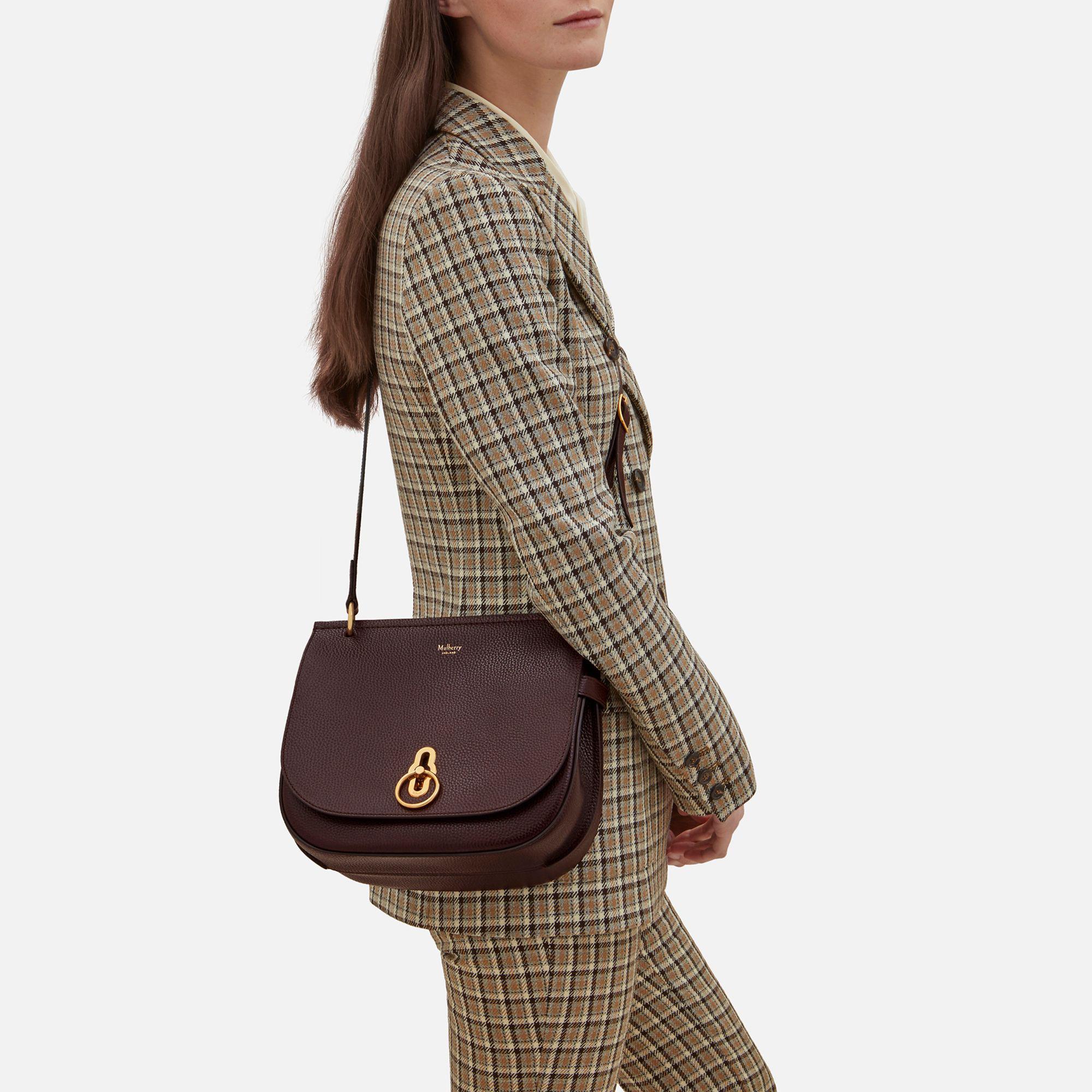 4e5c62ea5caa ... discount code for mulberry brown amberley satchel lyst. view fullscreen  fd4e2 52b13
