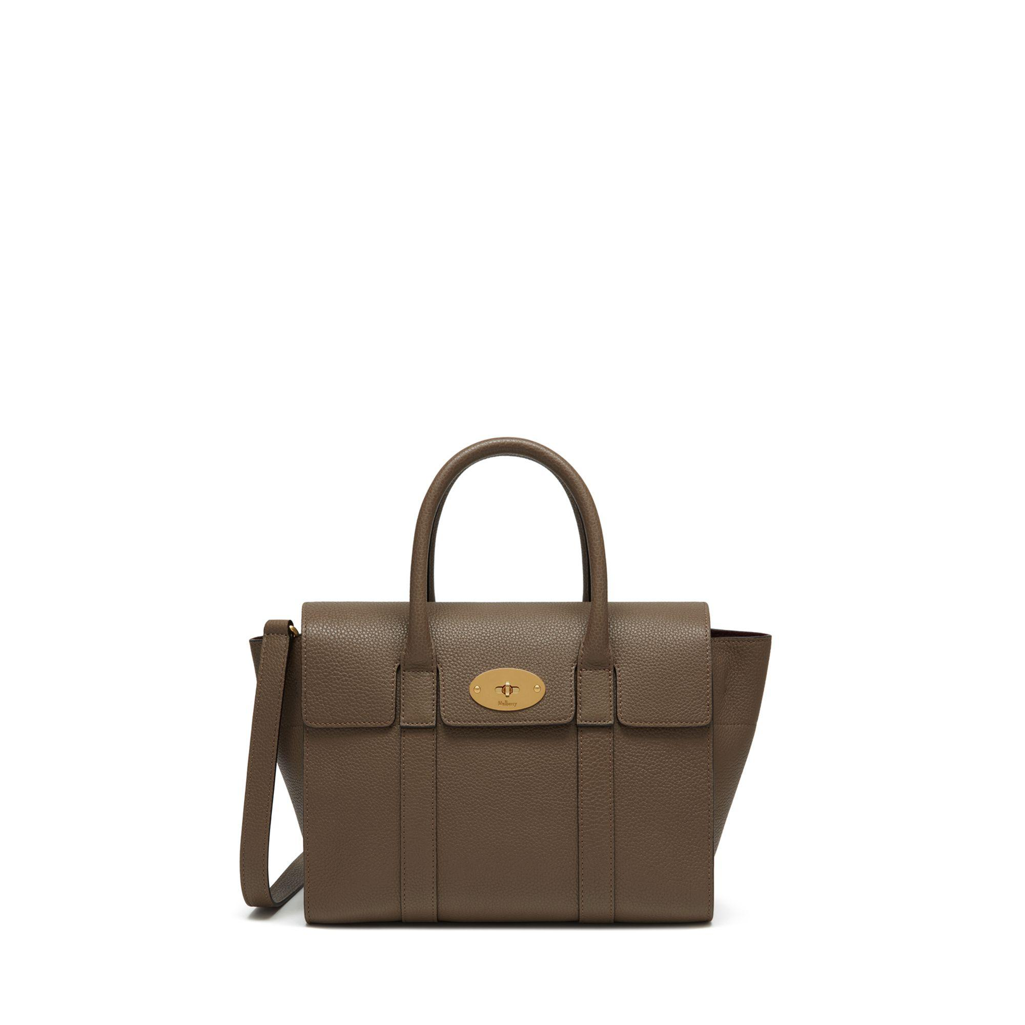 Mulberry Small New Bayswater in Brown - Lyst 245d16b4f8a70