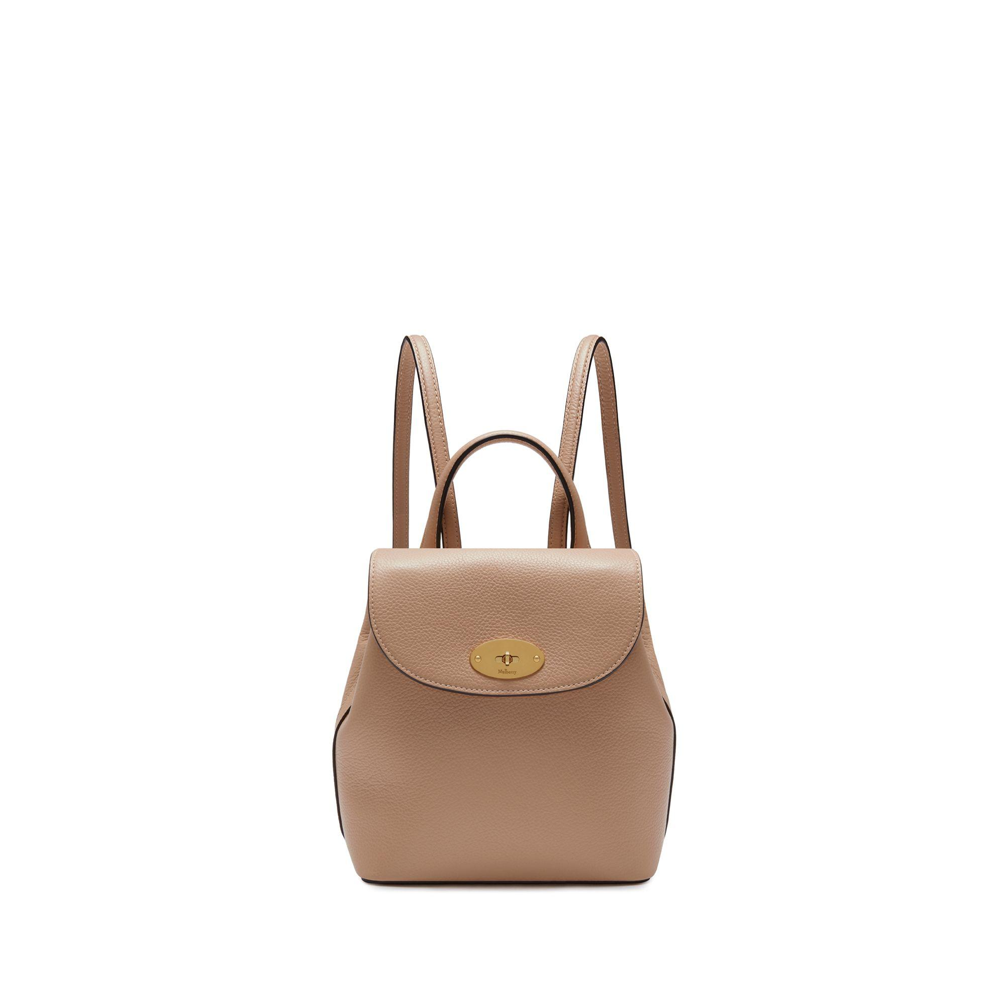 492cd41092 Mulberry - Brown Mini Bayswater Backpack In Rosewater Small Classic Grain -  Lyst