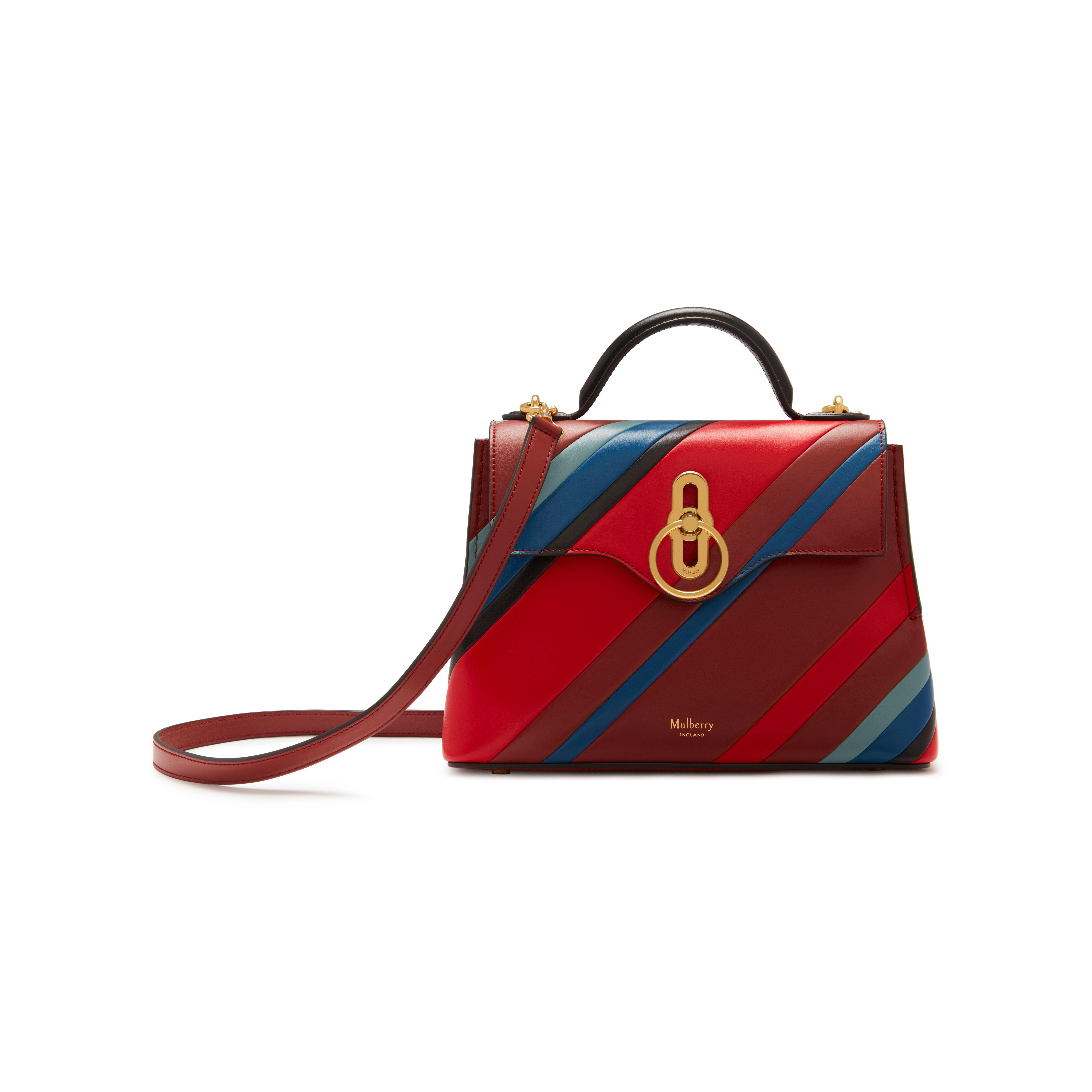 Lyst - Mulberry Mini Seaton in Red 9b5a6446ca360