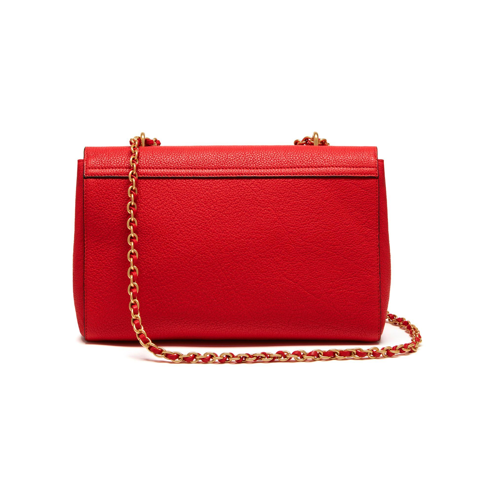 Mulberry Medium Lily In Red Lyst