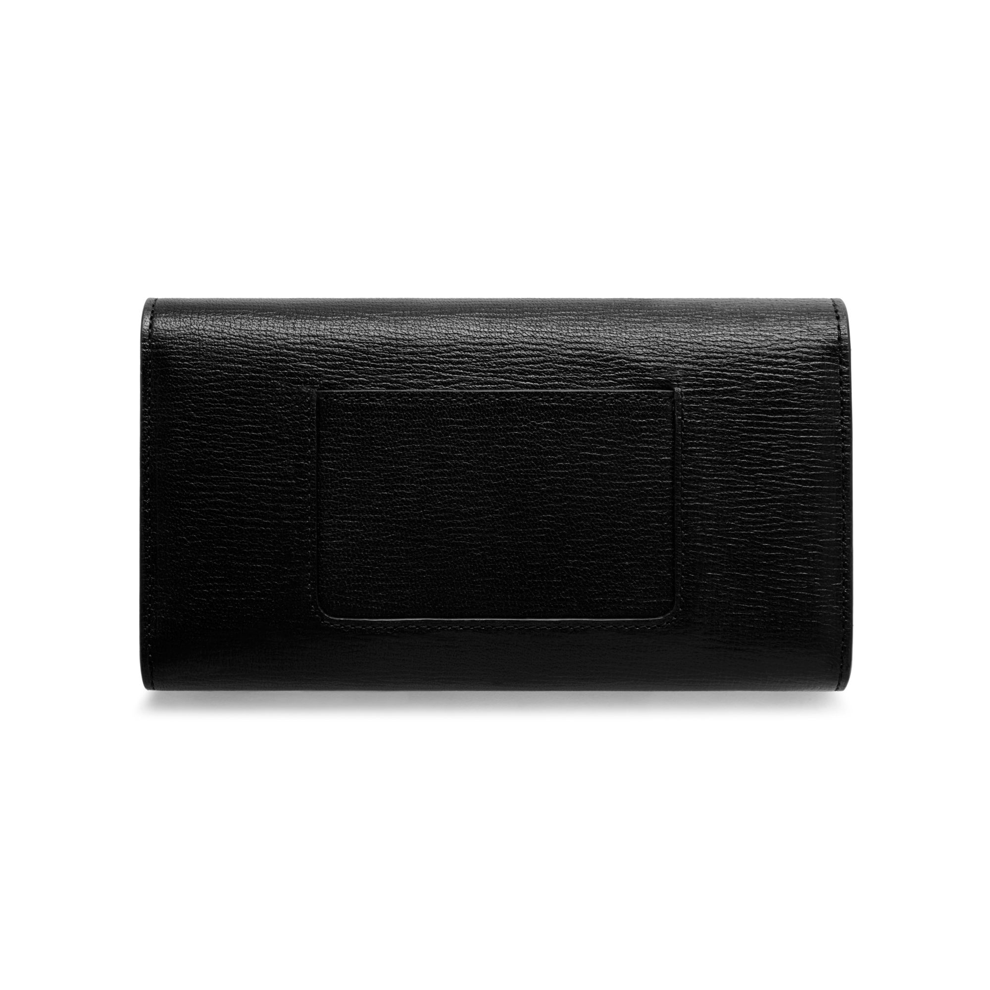 Lyst Mulberry Cheyne Leather Wallet In Black