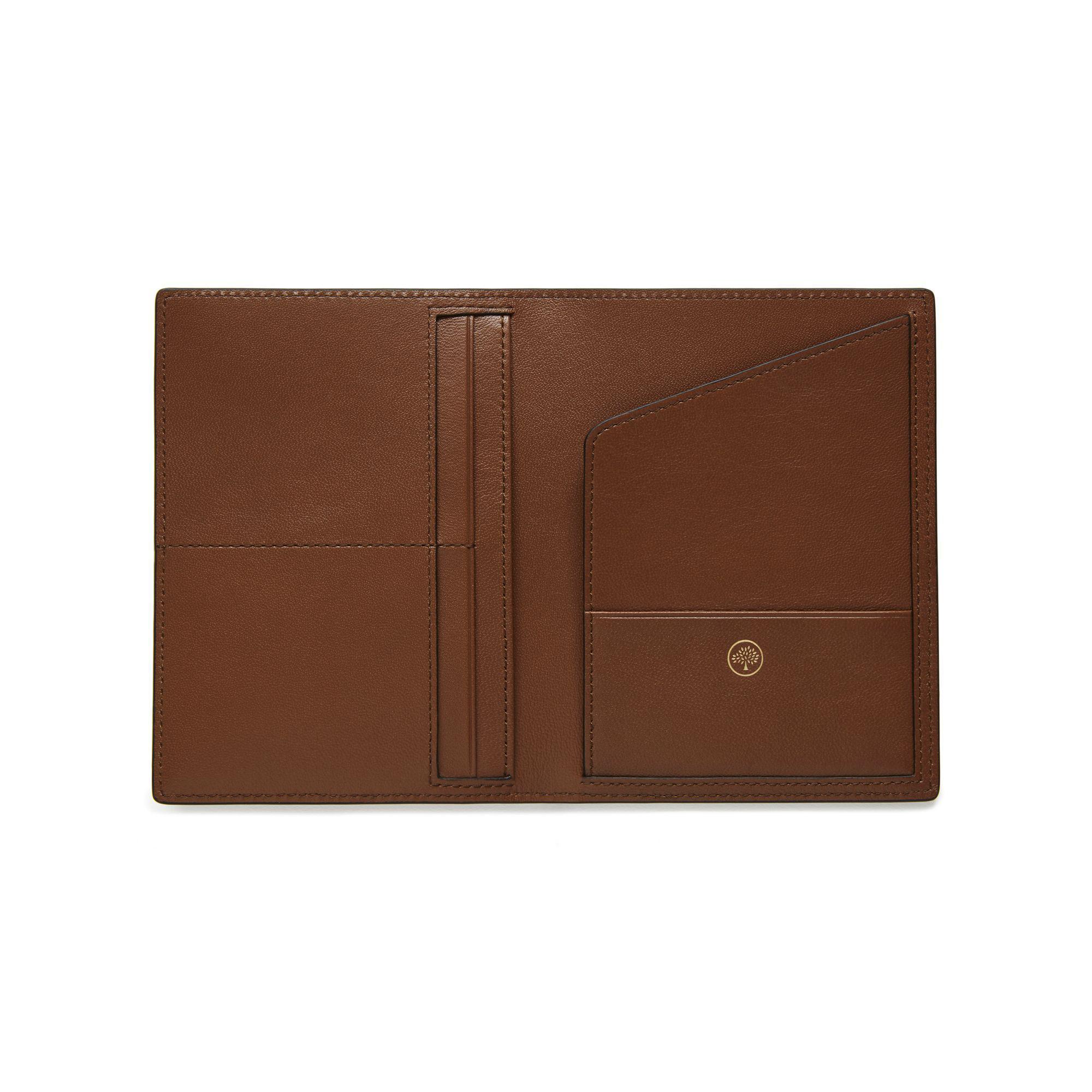 14d7e9b1c716 Mulberry - Brown Passport Cover Wallet for Men - Lyst. View fullscreen