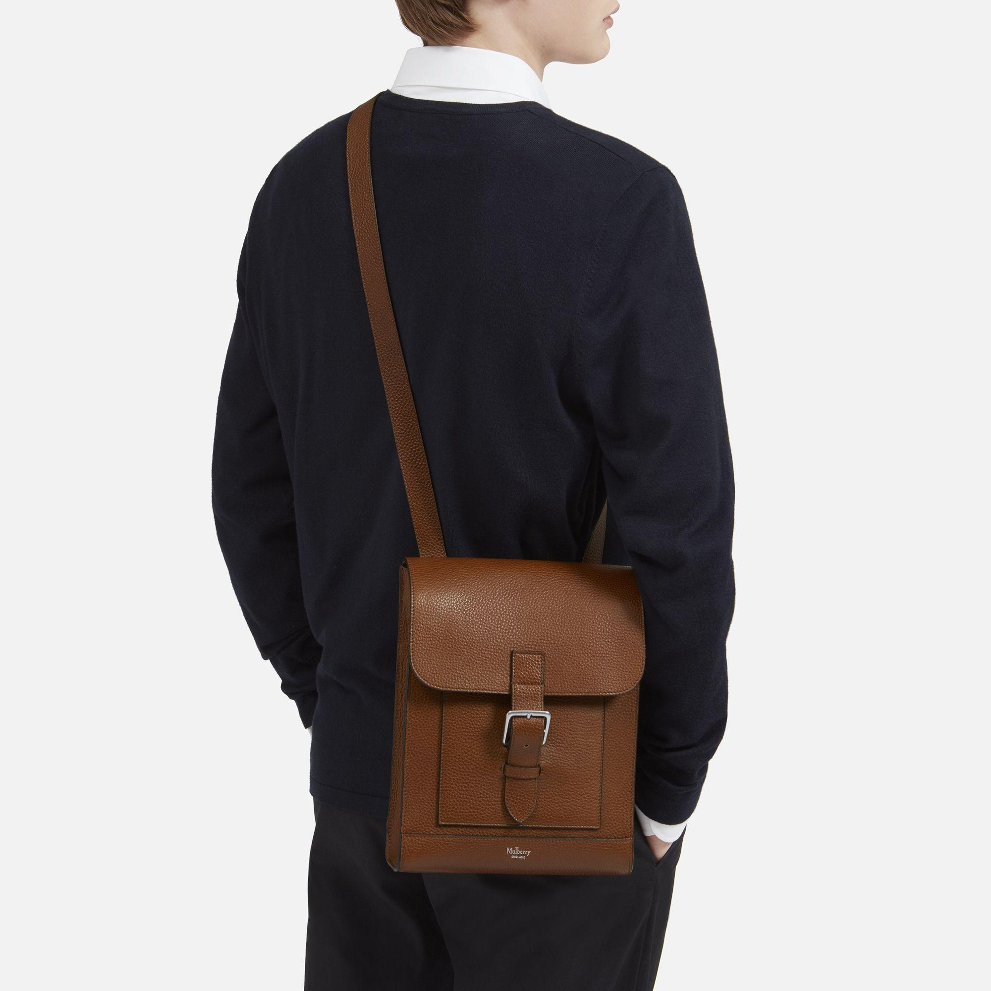 ... discount lyst mulberry chiltern small messenger for men f4f33 42ec6 97f5991e3ad53