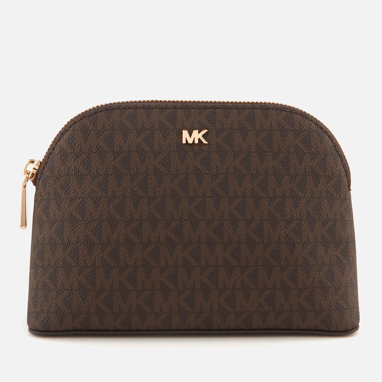 0c9f674a0c5b03 MICHAEL Michael Kors Travel Trio Pouch in Brown - Lyst