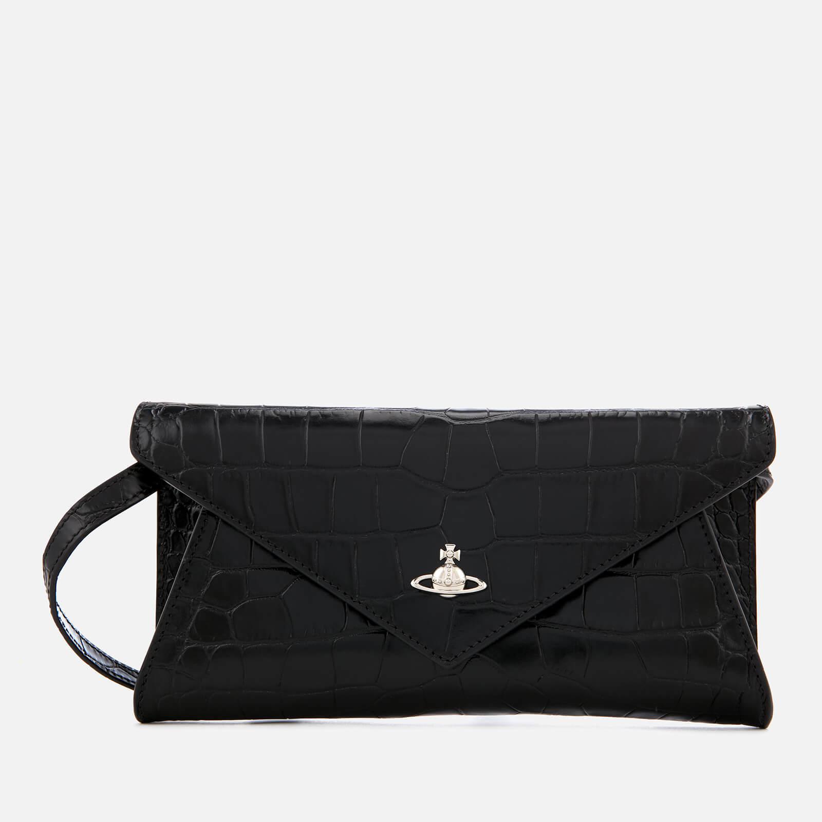 2488e5a061e8 Vivienne Westwood Lisa Envelope Clutch Bag in Black - Save 33% - Lyst