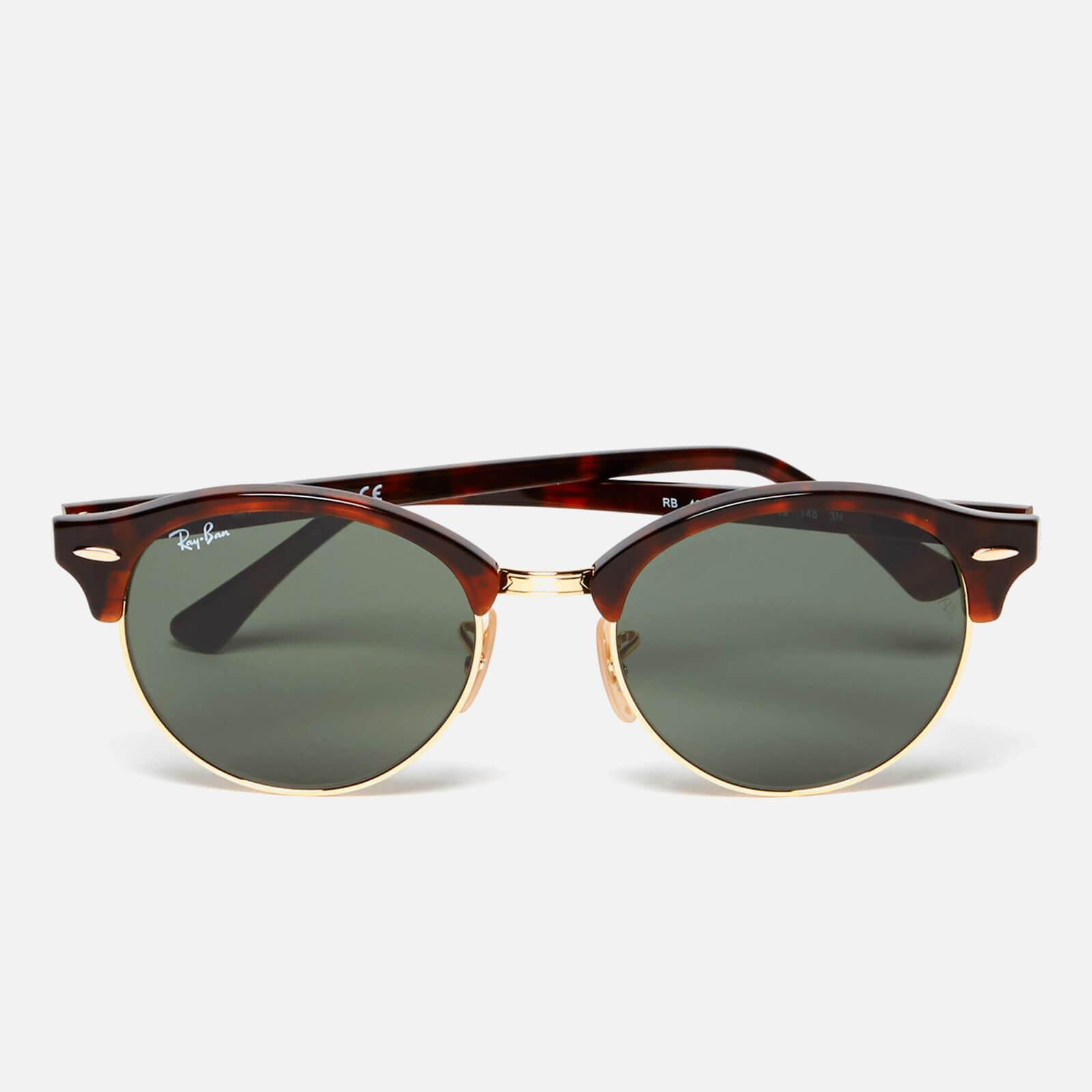 Lyst - Ray-Ban Clubround Flat Lenses Half Metal Frame Sunglasses for Men
