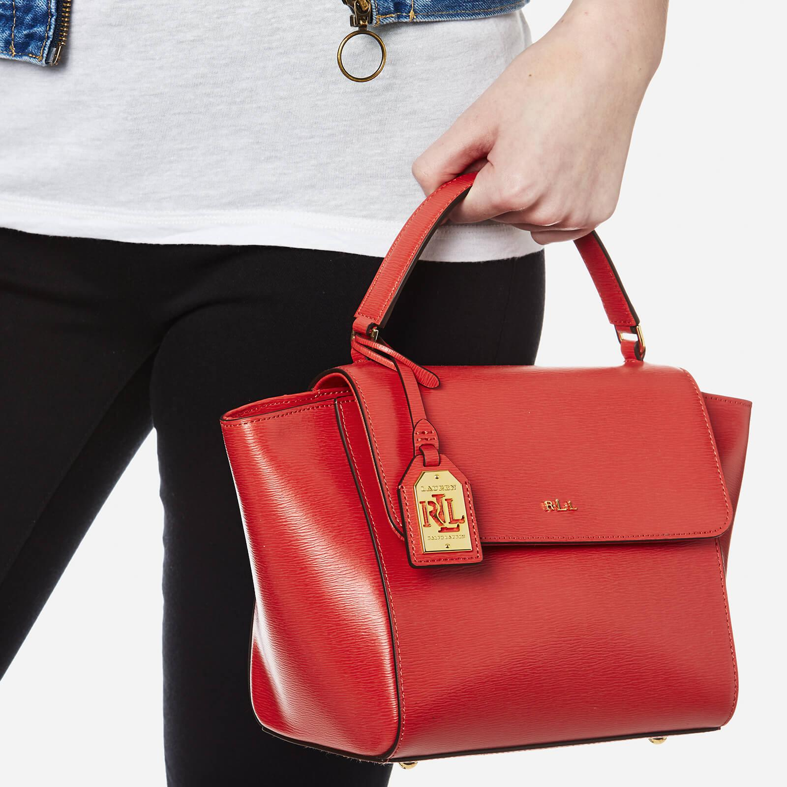 f9da34de1c28 Lyst - Ralph Lauren Barclay Cross Body Bag in Red