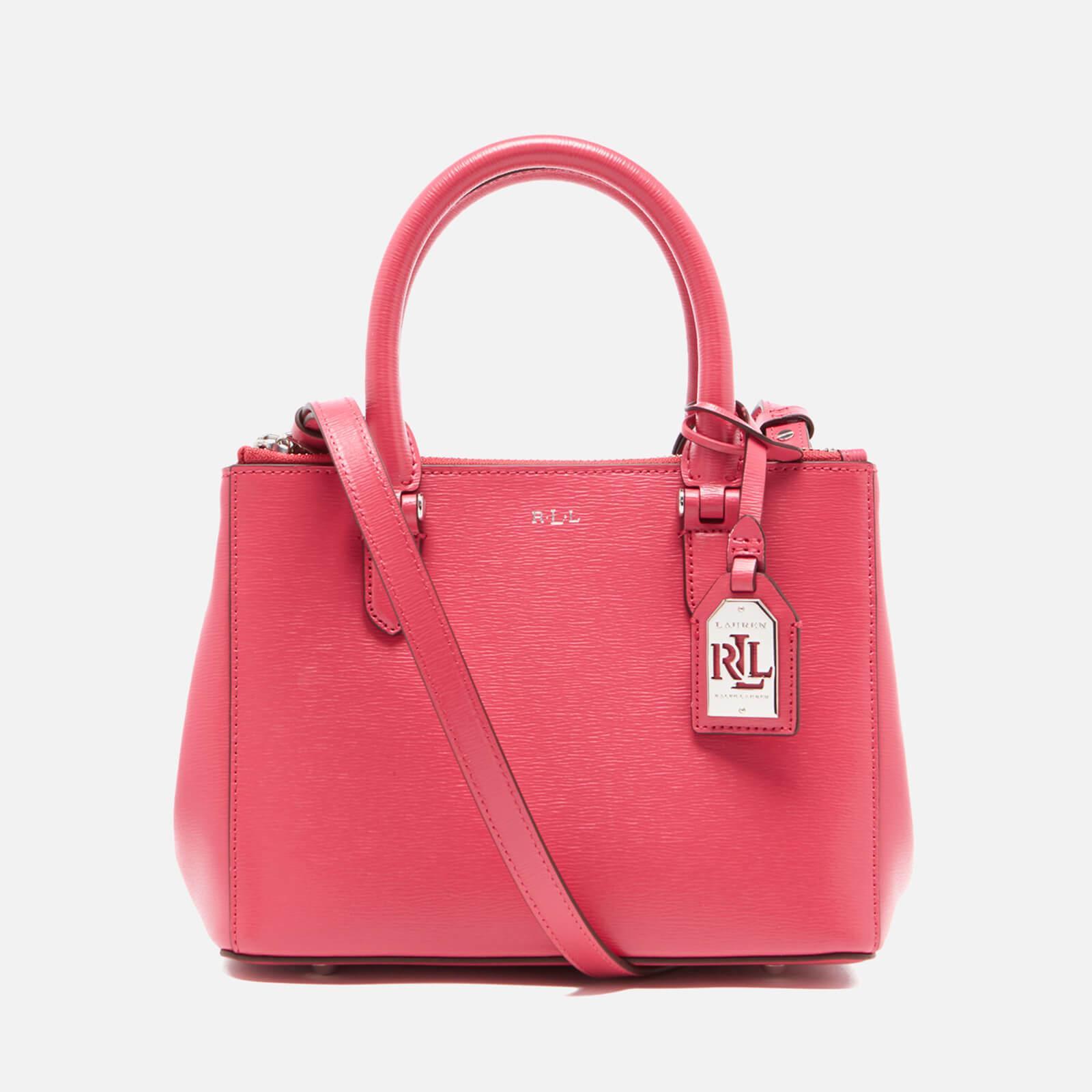 1625aa0129363 Lauren by Ralph Lauren Newbury Mini Double Zip Satchel in Pink - Lyst