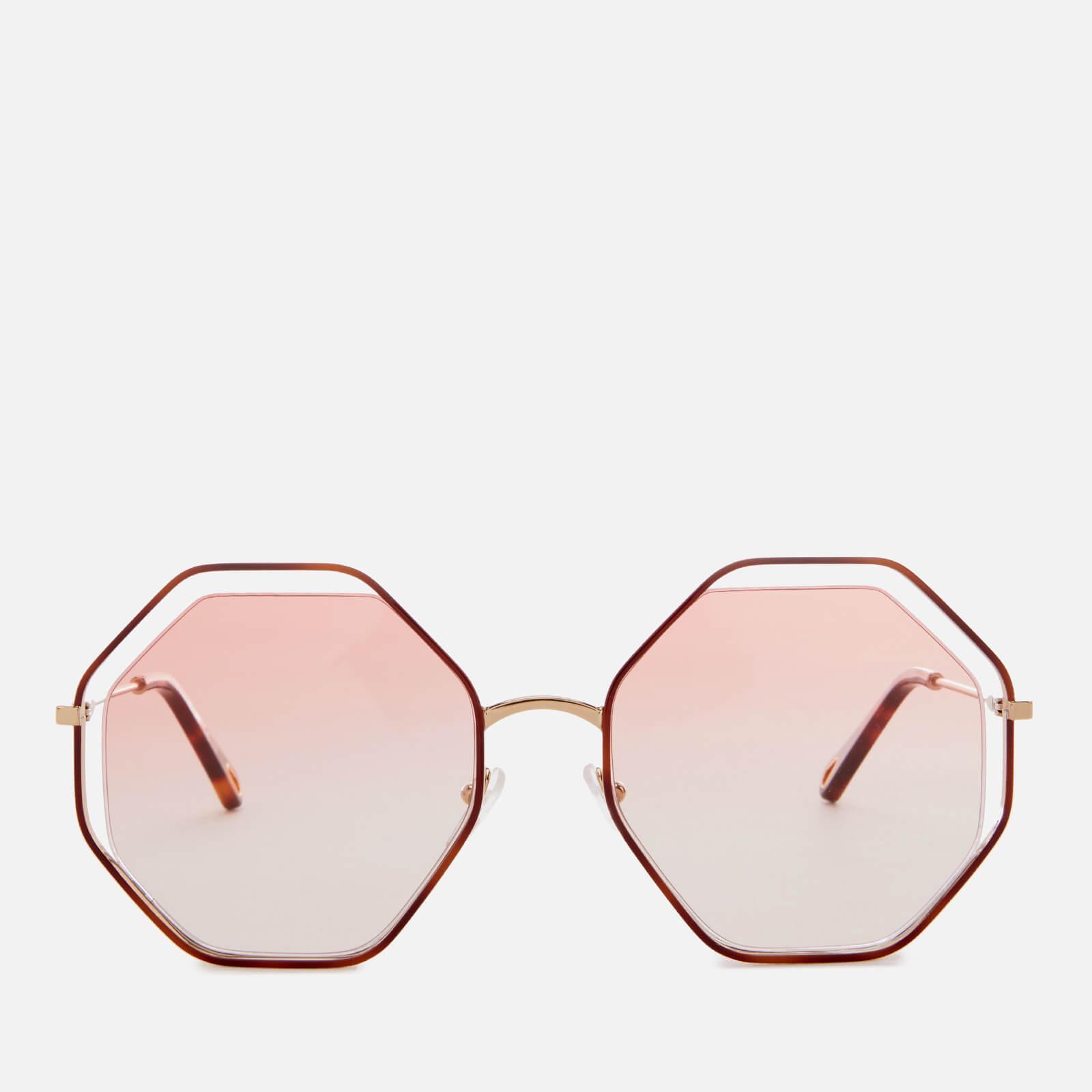 1772ed07b6c Chloé Poppy Octagon Frame Sunglasses - Save 5% - Lyst