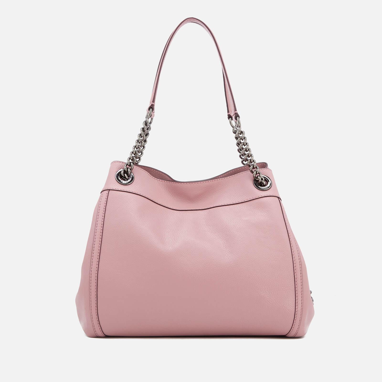 ea453828e5 ... where to buy coach pink turnlock edie shoulder bag lyst. view  fullscreen 38ea4 05342