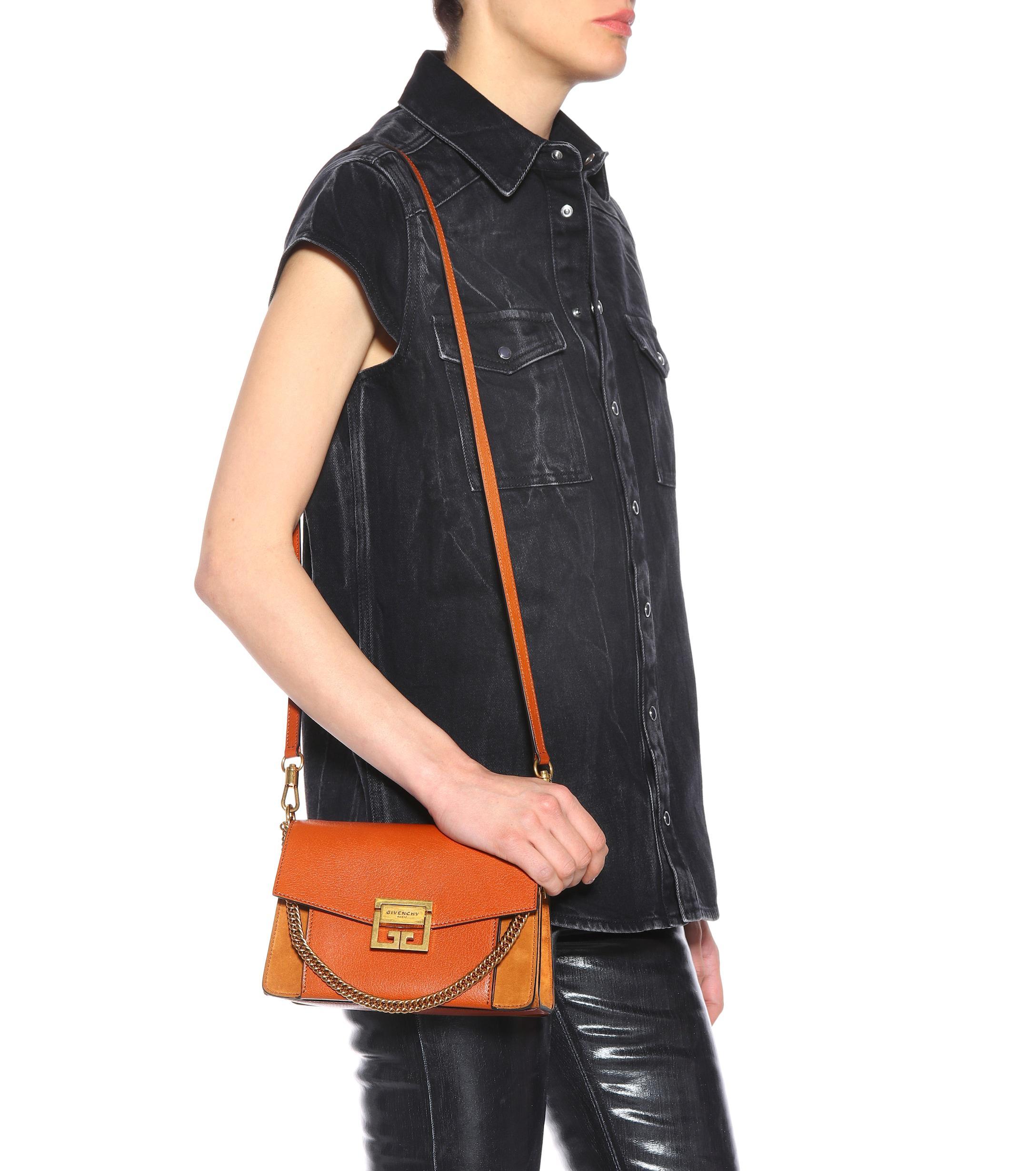 cbec0bea88 givenchy-chestnut-Small-Gv3-Leather-Shoulder-Bag.jpeg