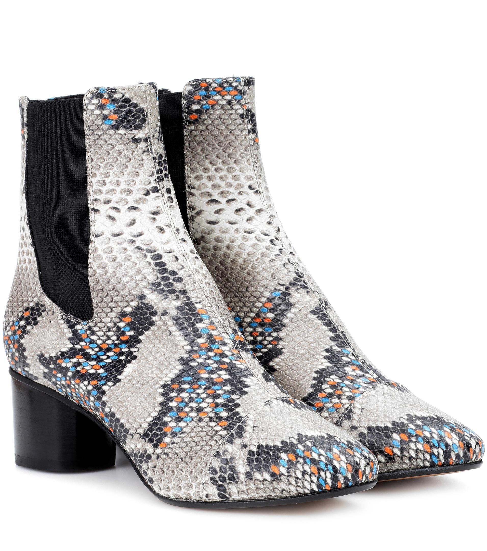 Isabel Marant Danelya leather ankle boots