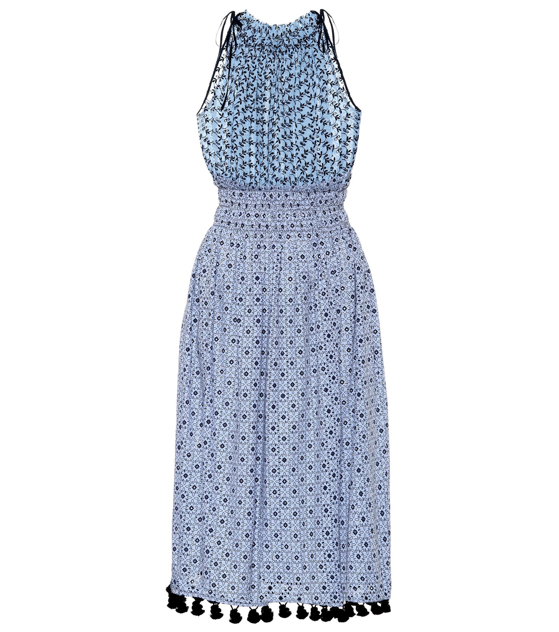 Sleeveless printed cotton dress Altuzarra CJUW5QfG7i
