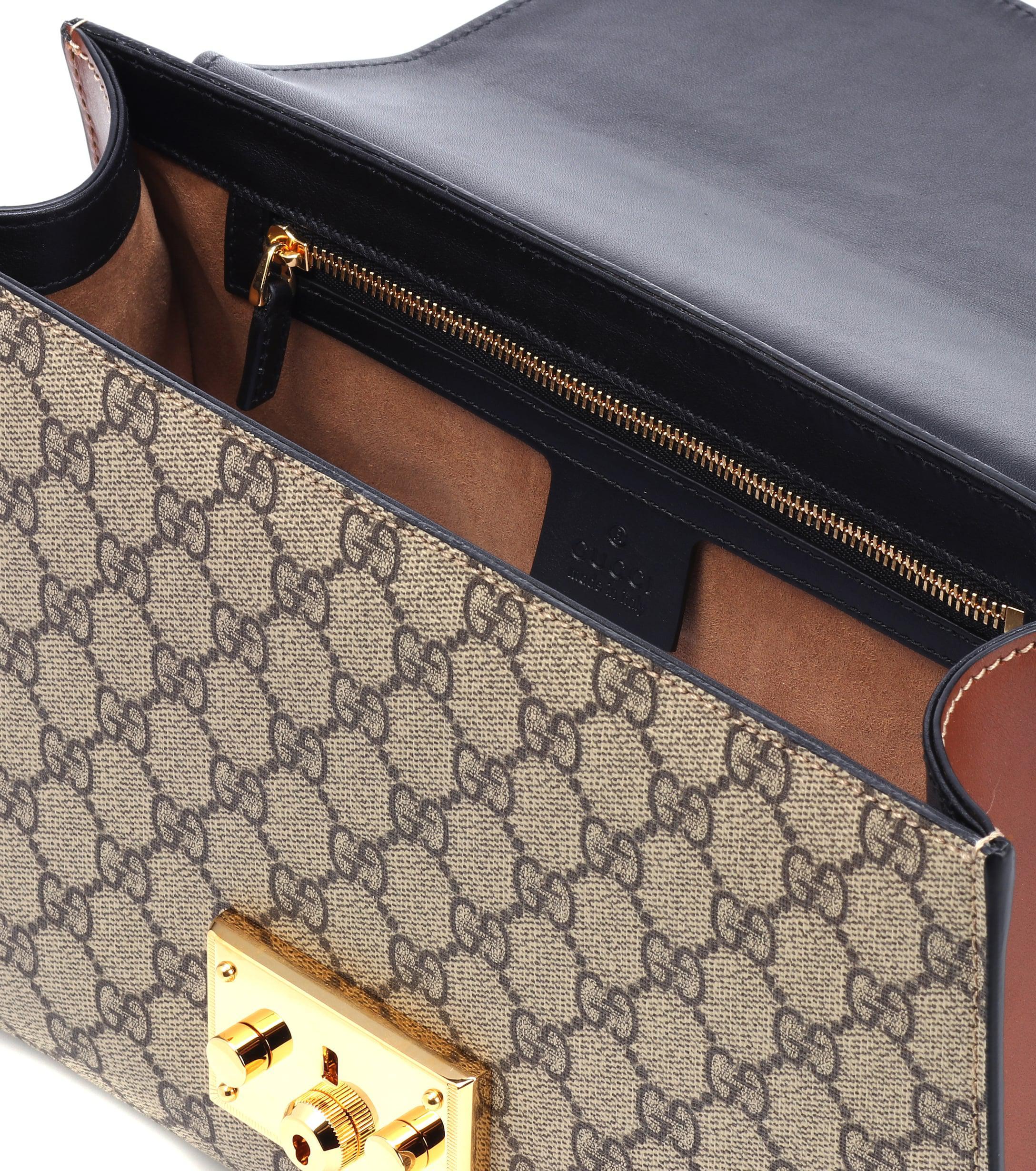 373aa5a18bc6e Gucci - Multicolor Padlock GG Supreme Medium Shoulder Bag - Lyst. View  fullscreen