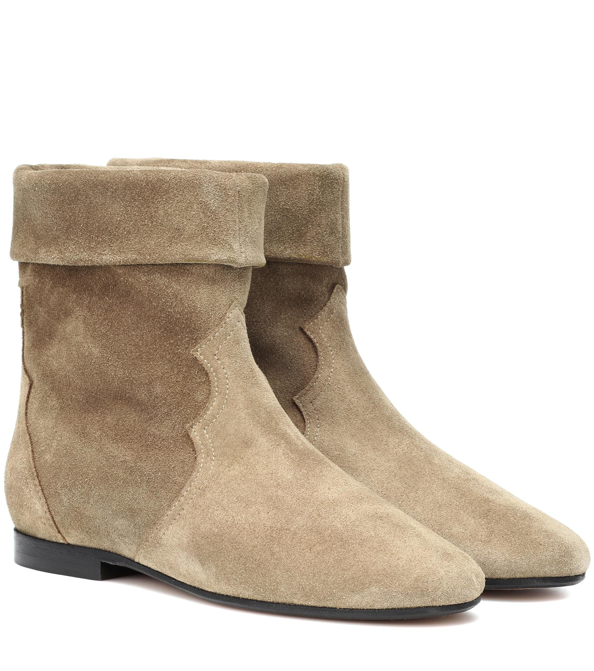 Buy Cheap Many Kinds Of Isabel Marant Ringal suede ankle boots Recommend For Sale cBI8GT