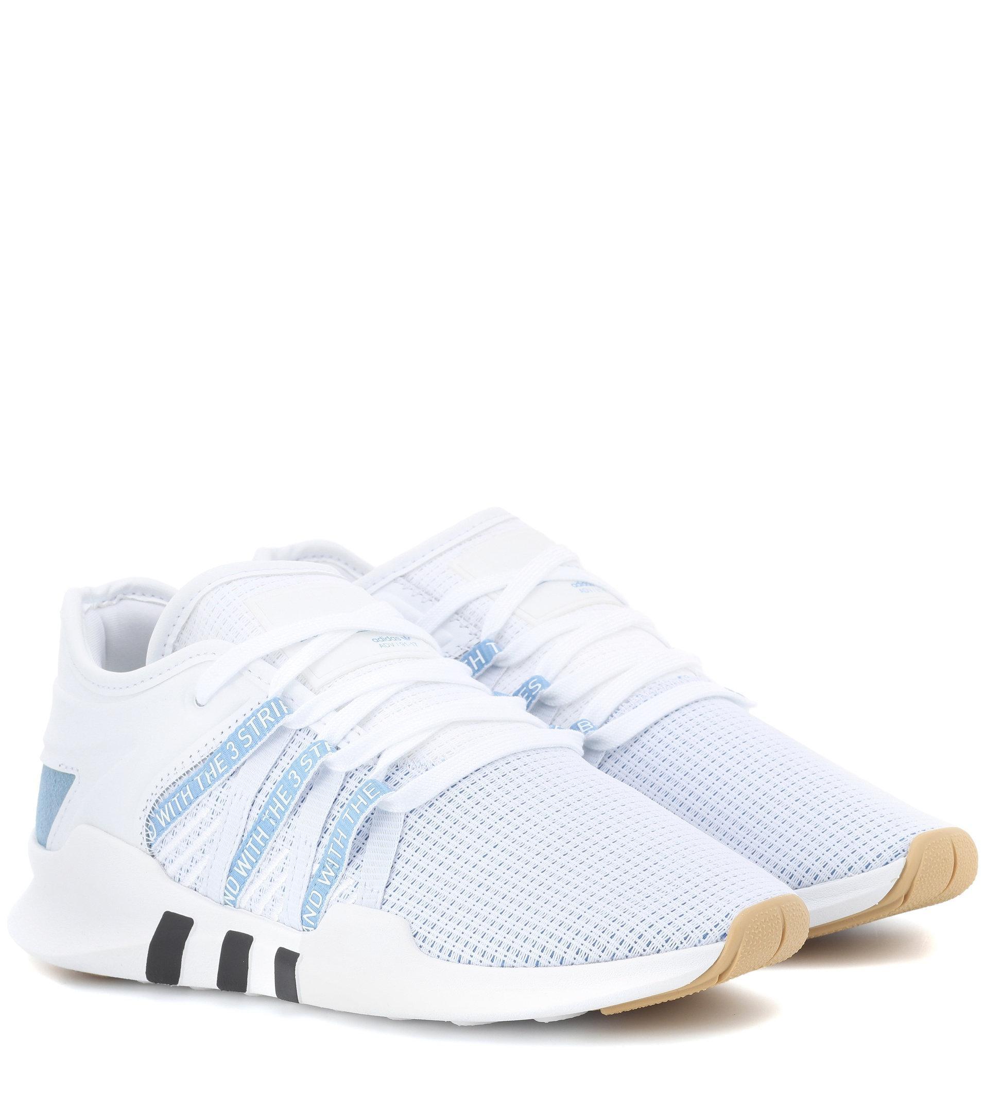 hot sales 99b43 1e34e adidas Originals. Womens White Eqt Adv Racing Trainers