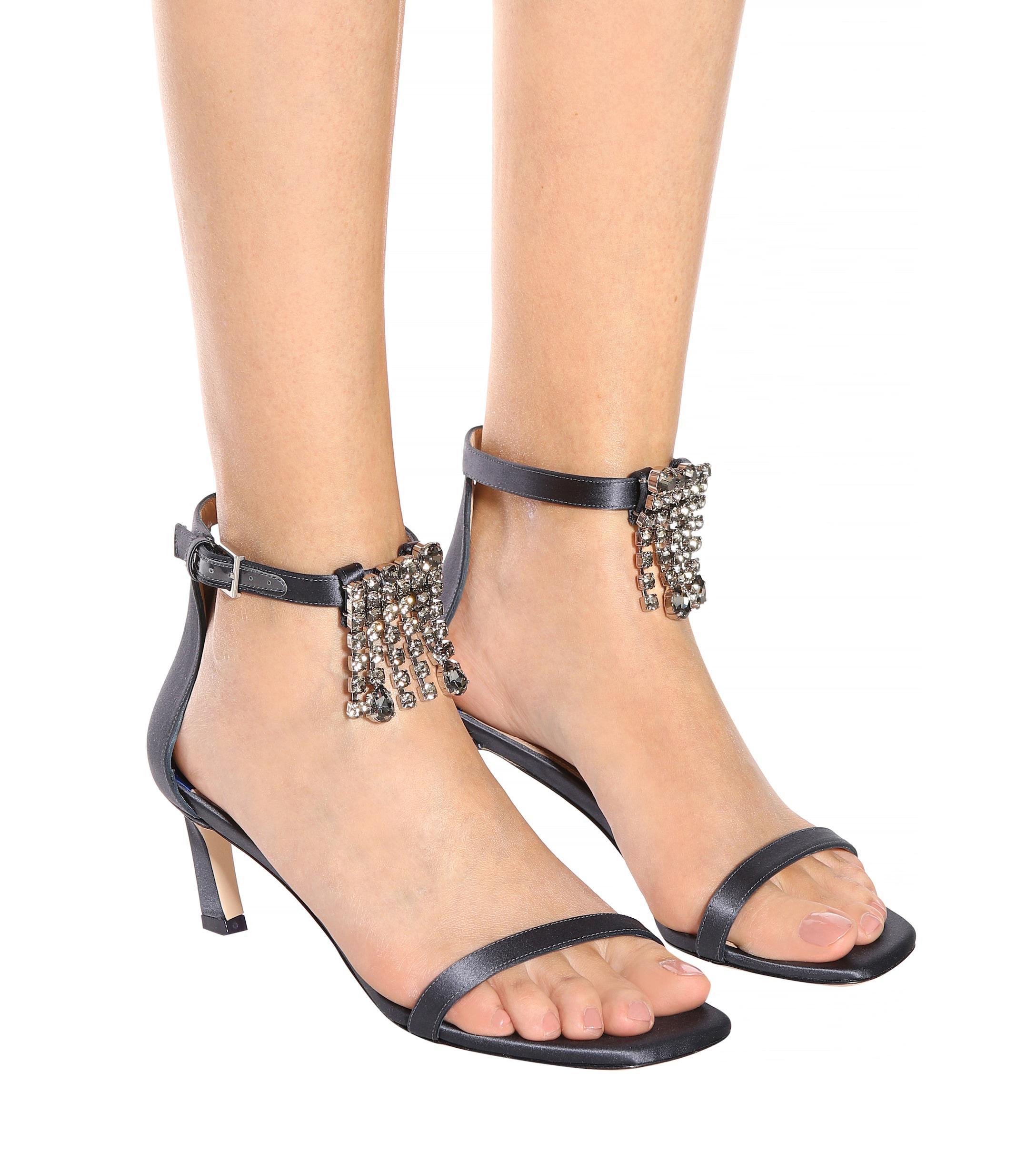 Stuart Weitzman - Simple patent leather sandals - sandals
