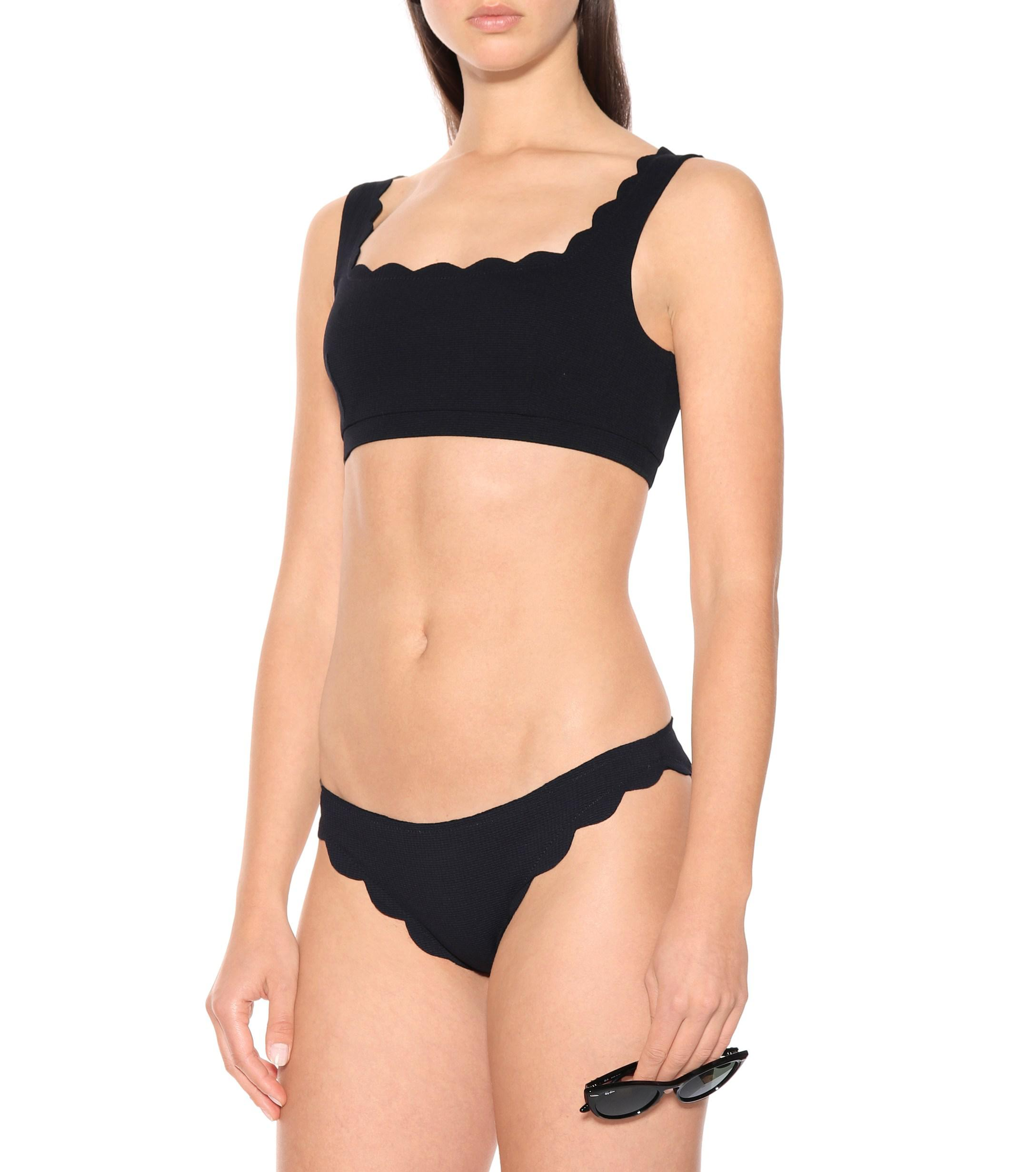 4111a0d69e3 Marysia Swim - Black Palm Springs Bikini Top - Lyst. View fullscreen