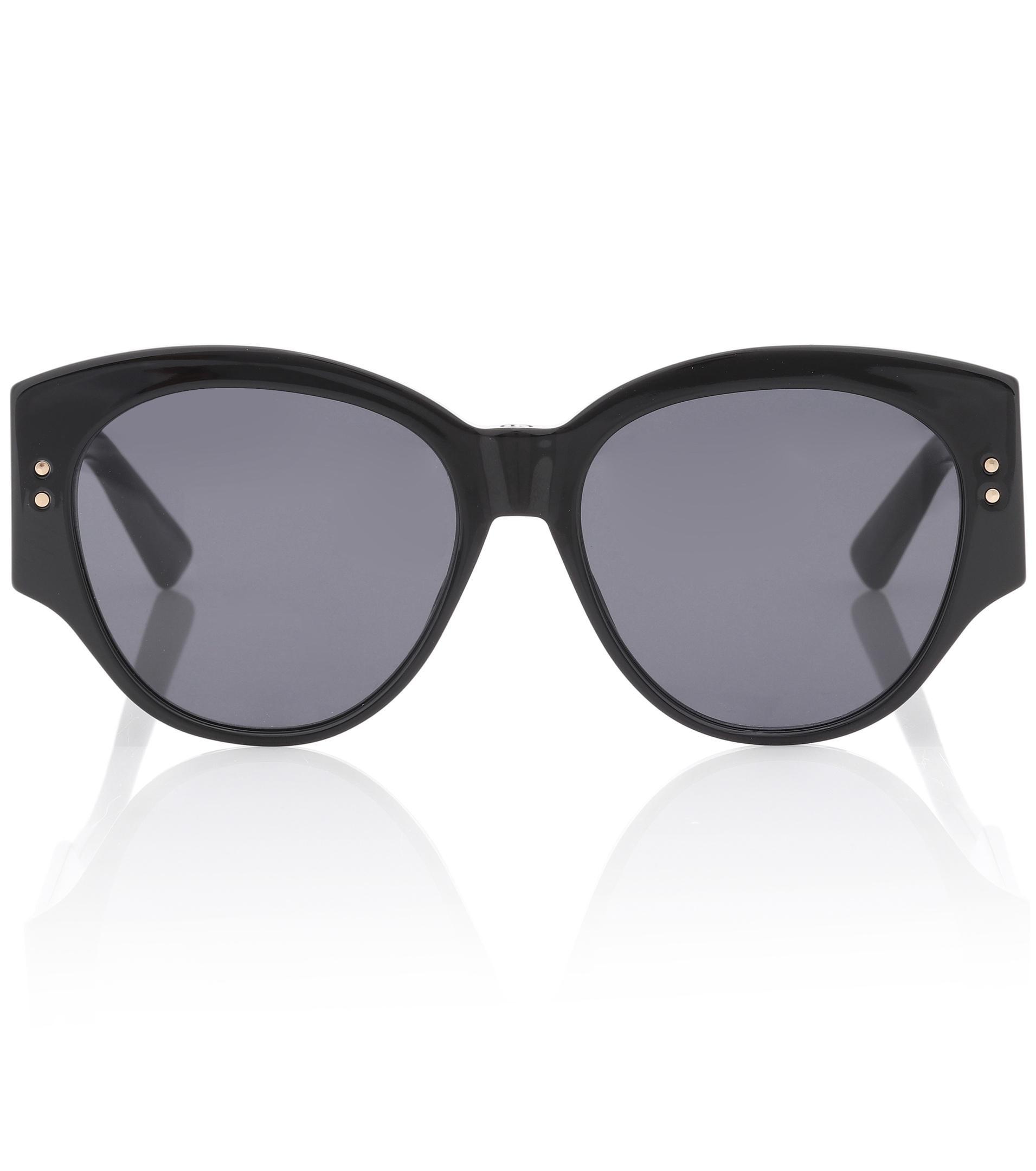 0ab3b3e0a16a Dior Ladydiorstuds2 Sunglasses in Black - Lyst