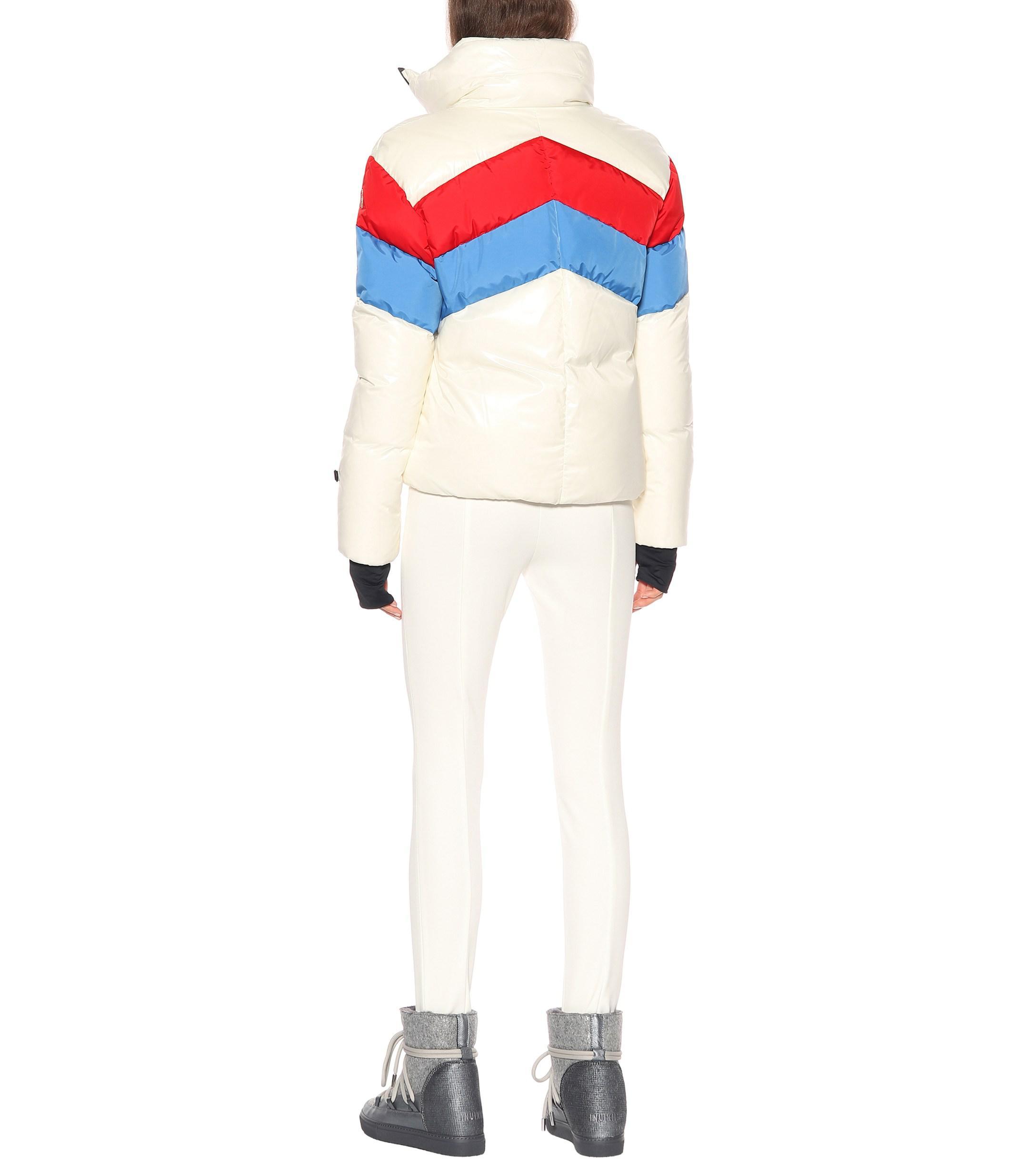 f1b6b89e3 Lyst - Moncler Grenoble Lamar Down Ski Jacket in White