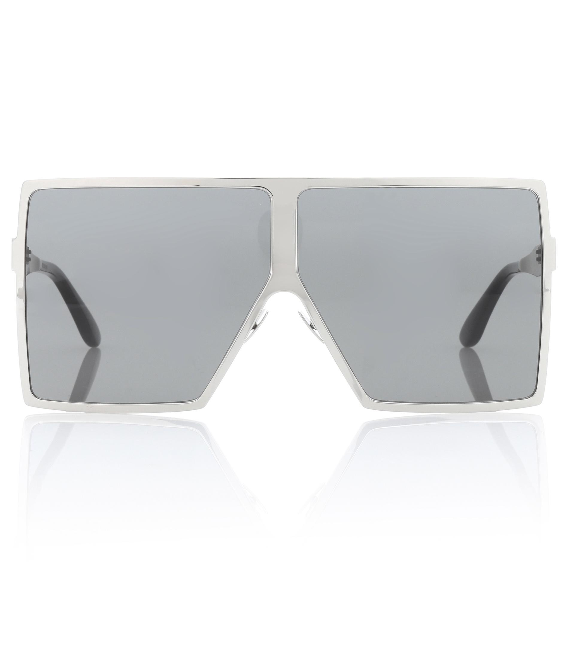 c1c7be4f4be Lyst - Saint Laurent New Wave 182 Betty Sunglasses in Metallic