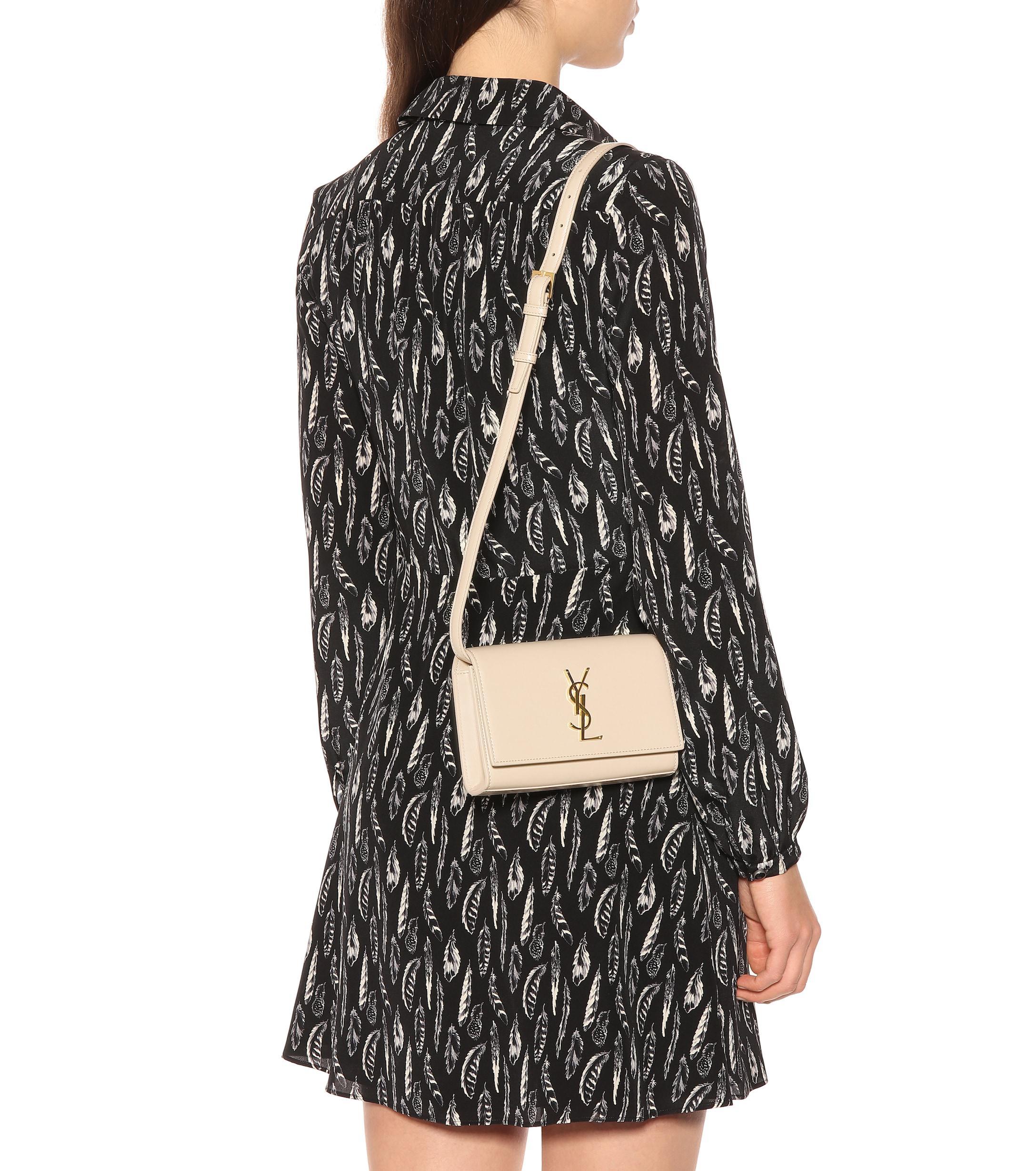 Saint Laurent - Multicolor Kate Leather Belt Bag - Lyst. View fullscreen 24197b3a045c1