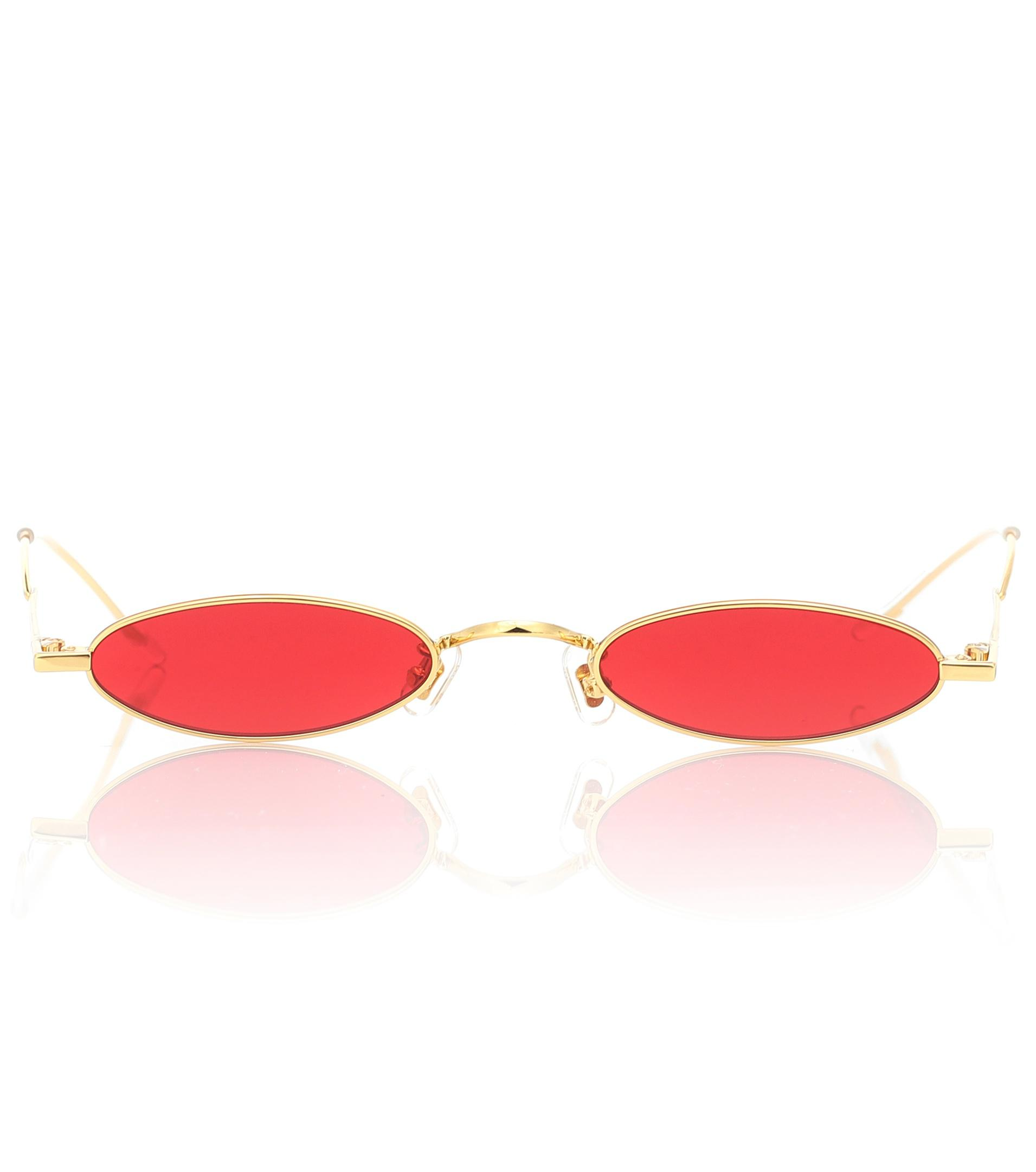 1f62b47ab3 Lyst - Gentle Monster Vector 03 Oval Sunglasses in Red