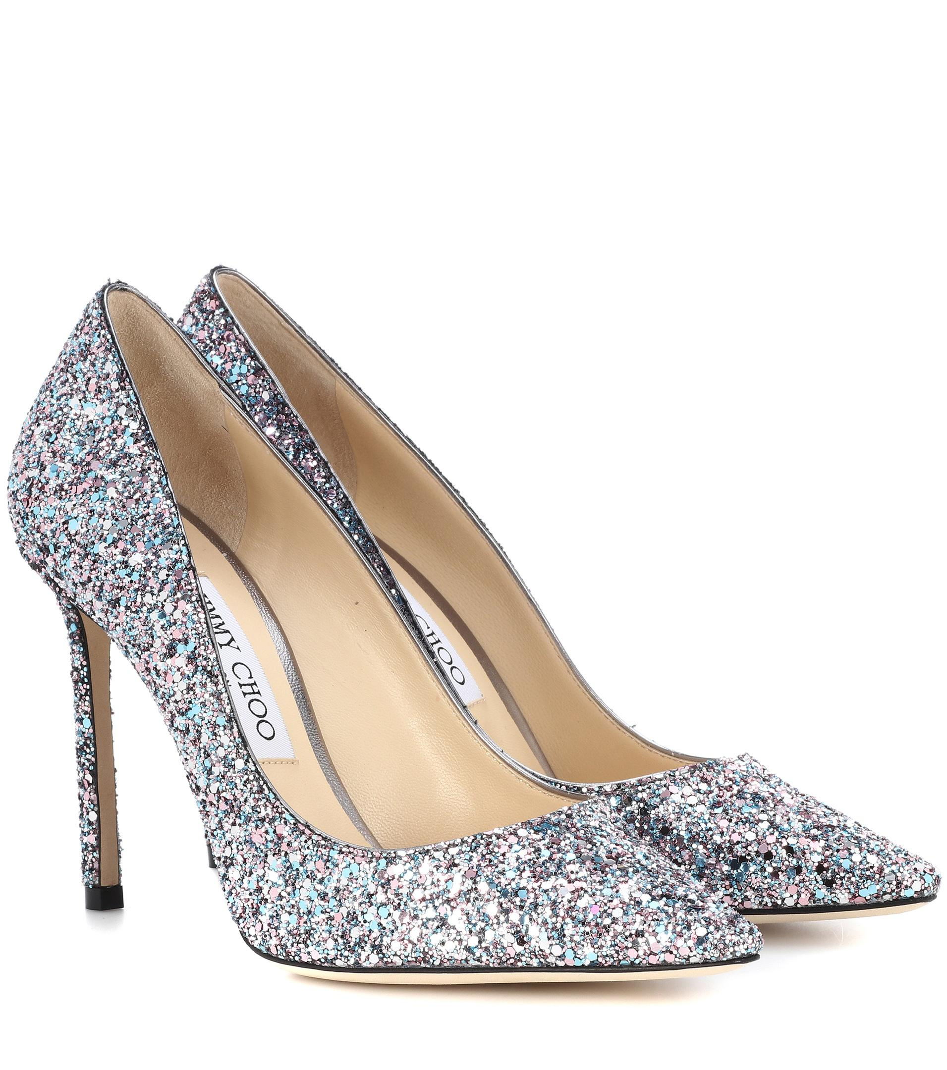 Romy glitter pumps - Metallic Jimmy Choo London IZLCV