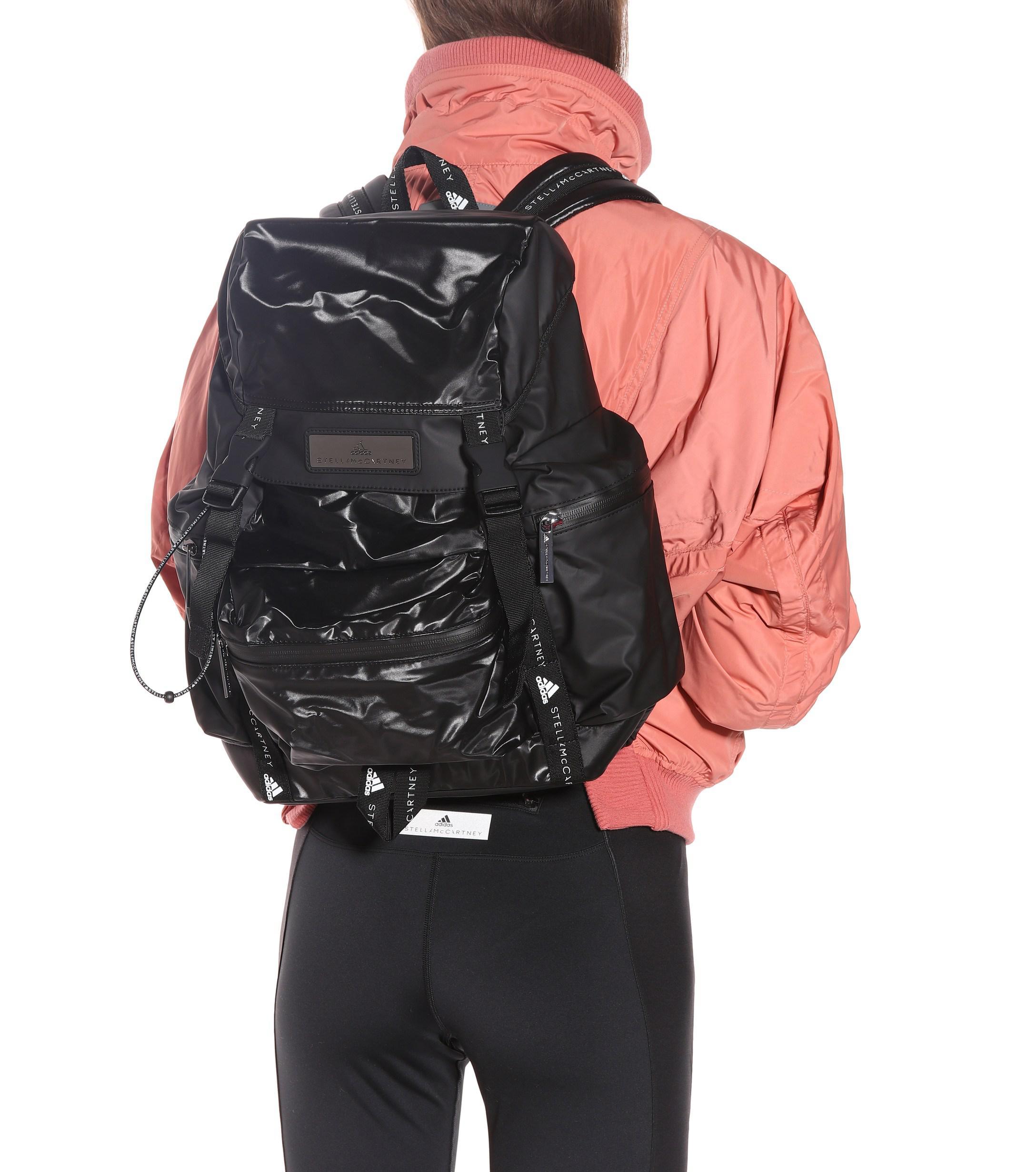 dddc77e12cdc Adidas By Stella McCartney - Black Technical Fabric Backpack - Lyst. View  fullscreen