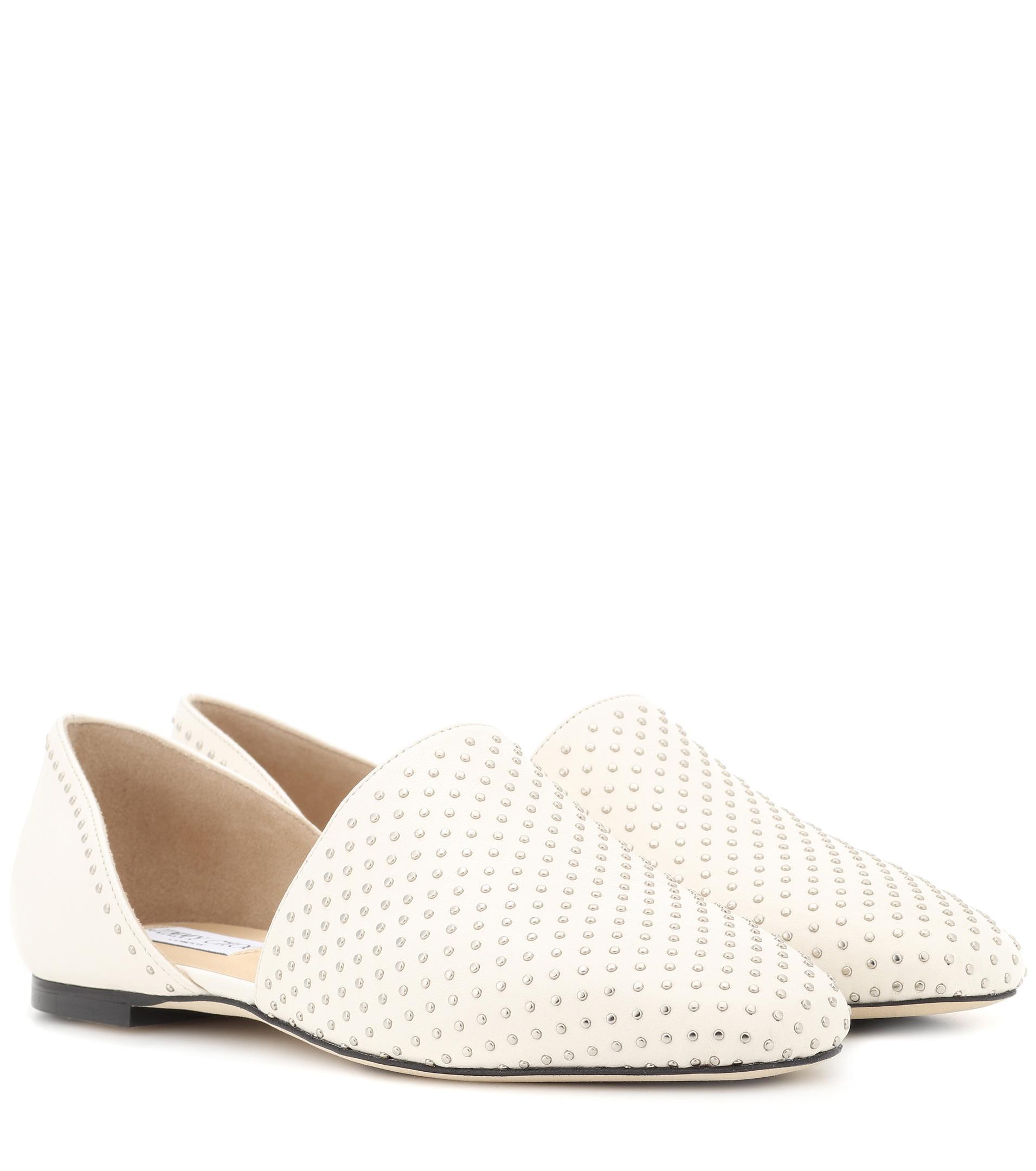 Globe cutout loafers - White Jimmy Choo London WppCFy