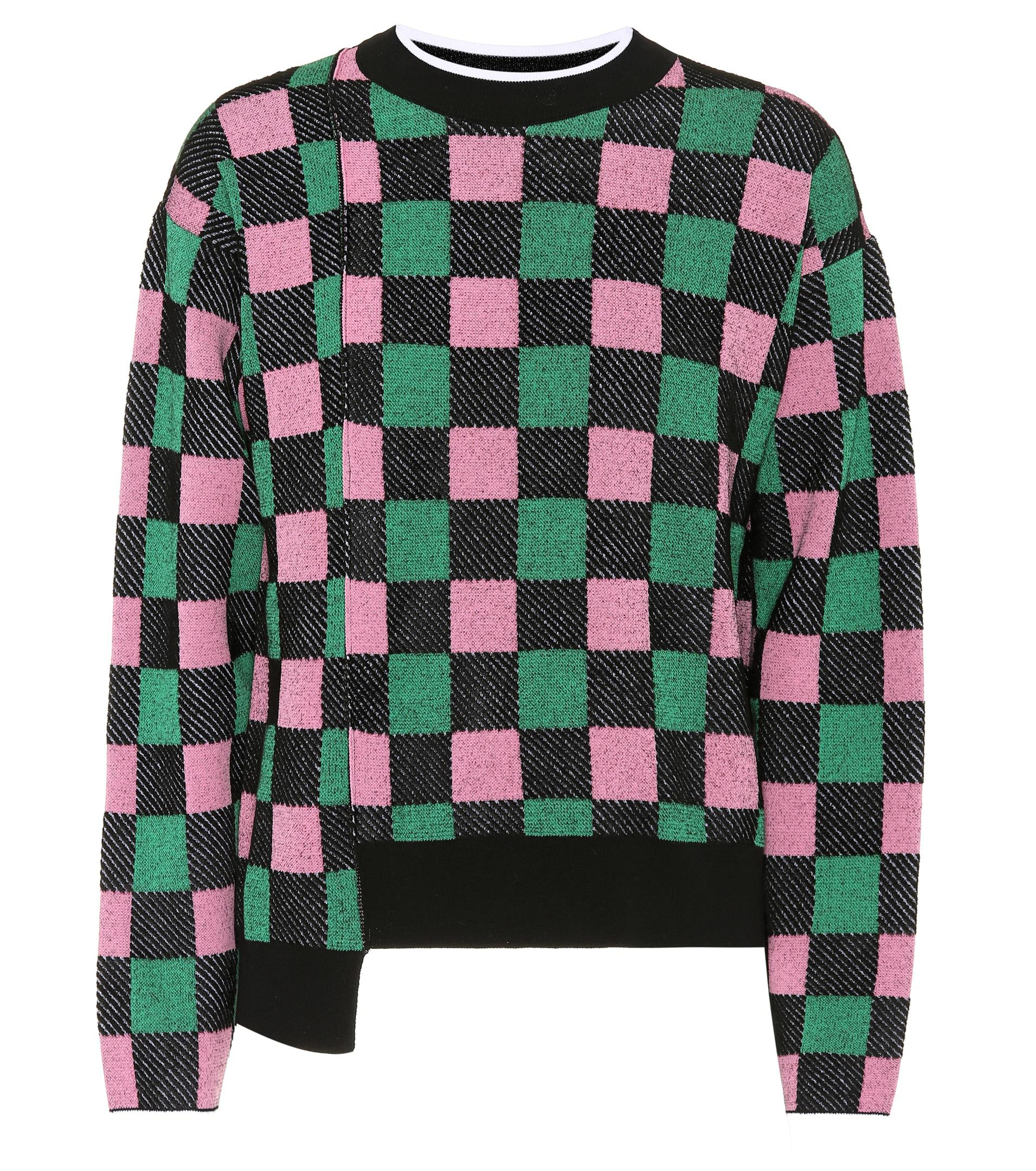 Nice Explore Cheap Online Cotton-blend checked sweater Marni Cheap Sale Pre Order Buy Cheap Authentic Discount Aaa QrJ8X7