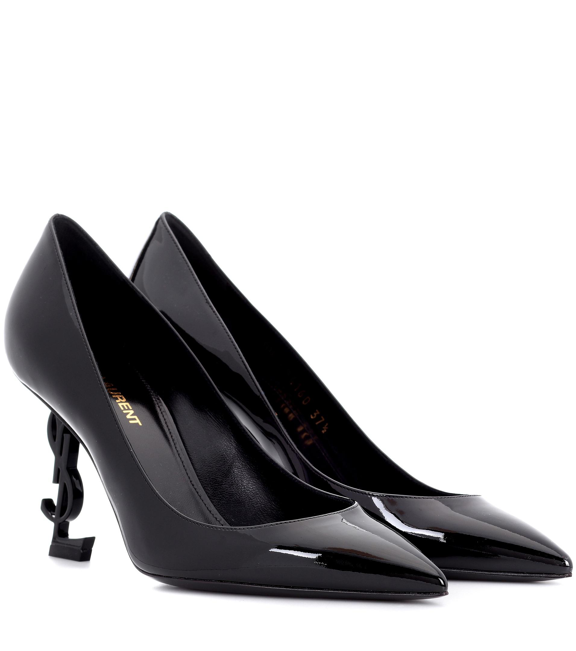 Opyum leather pumps with golden heel Saint Laurent Browse Online AZW2bo2KET