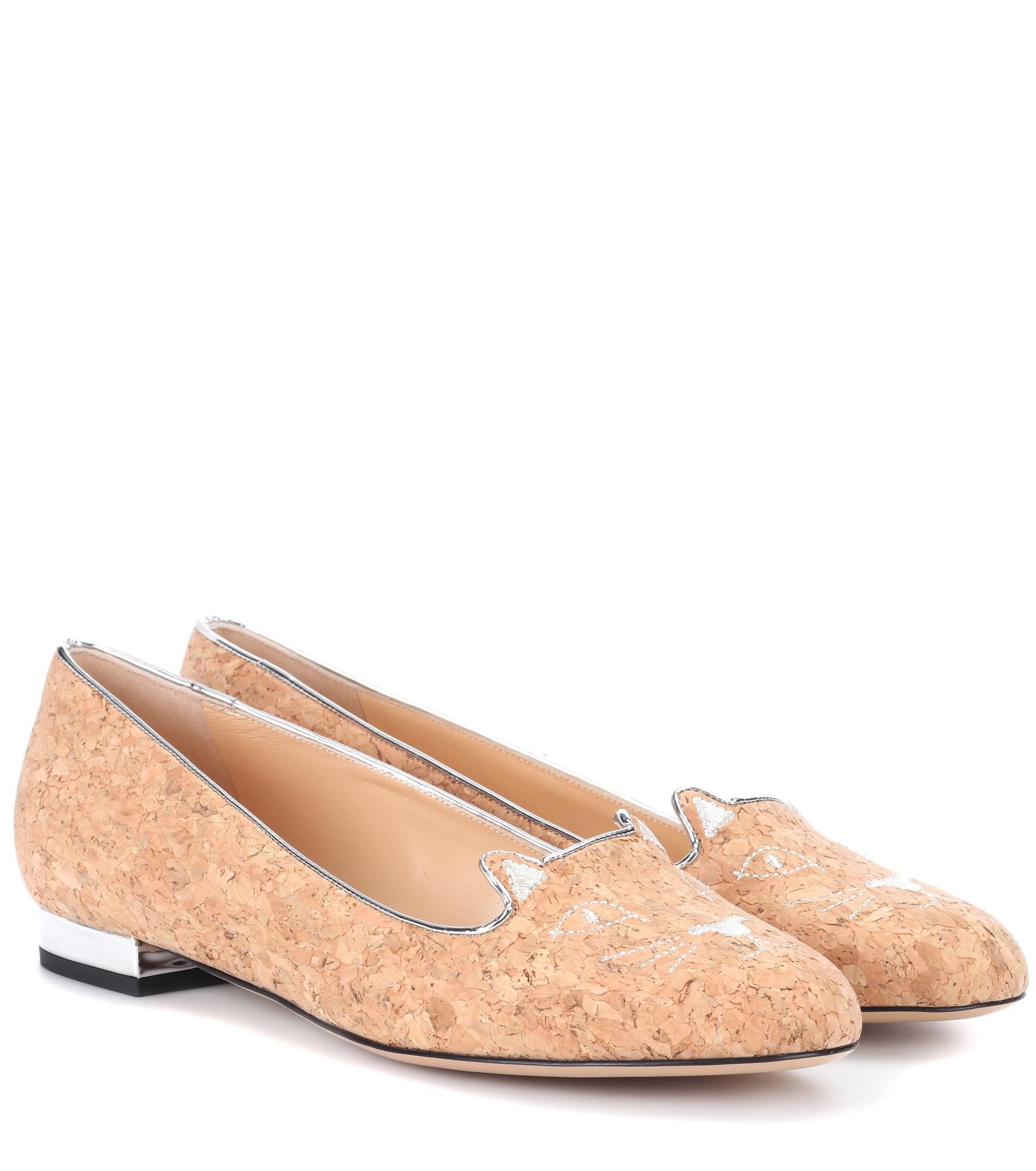 Charlotte Olympia Embroidered Patterned Loafers get authentic for sale discount cheap price buy cheap get to buy buy cheap sast geniue stockist TtjmBj